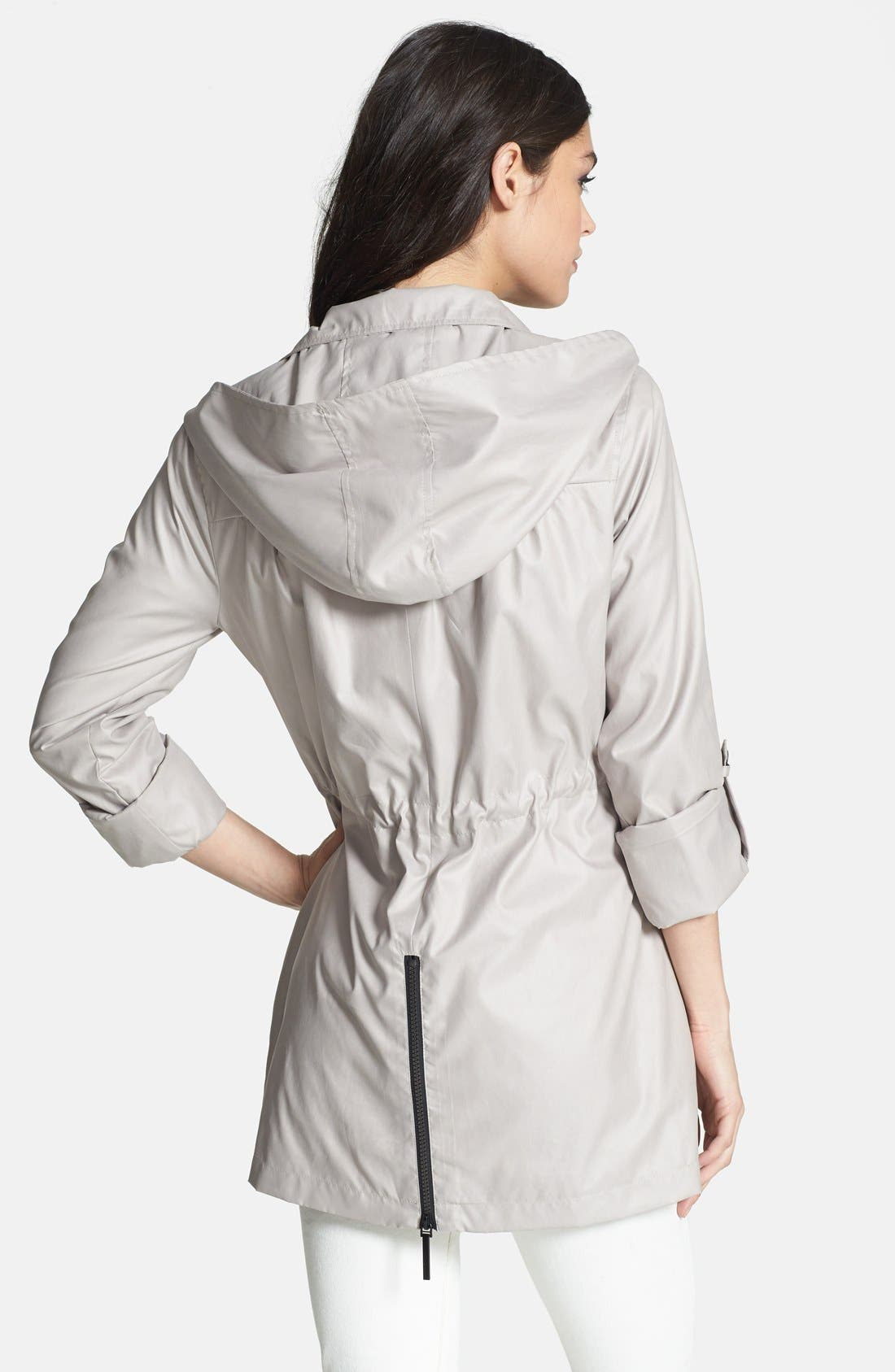 Alternate Image 2  - BCBGeneration Roll Sleeve Slouchy Anorak