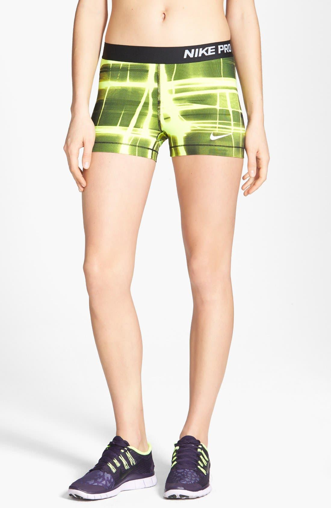 Alternate Image 1 Selected - Nike 'Pro' Dri-FIT Print Shorts