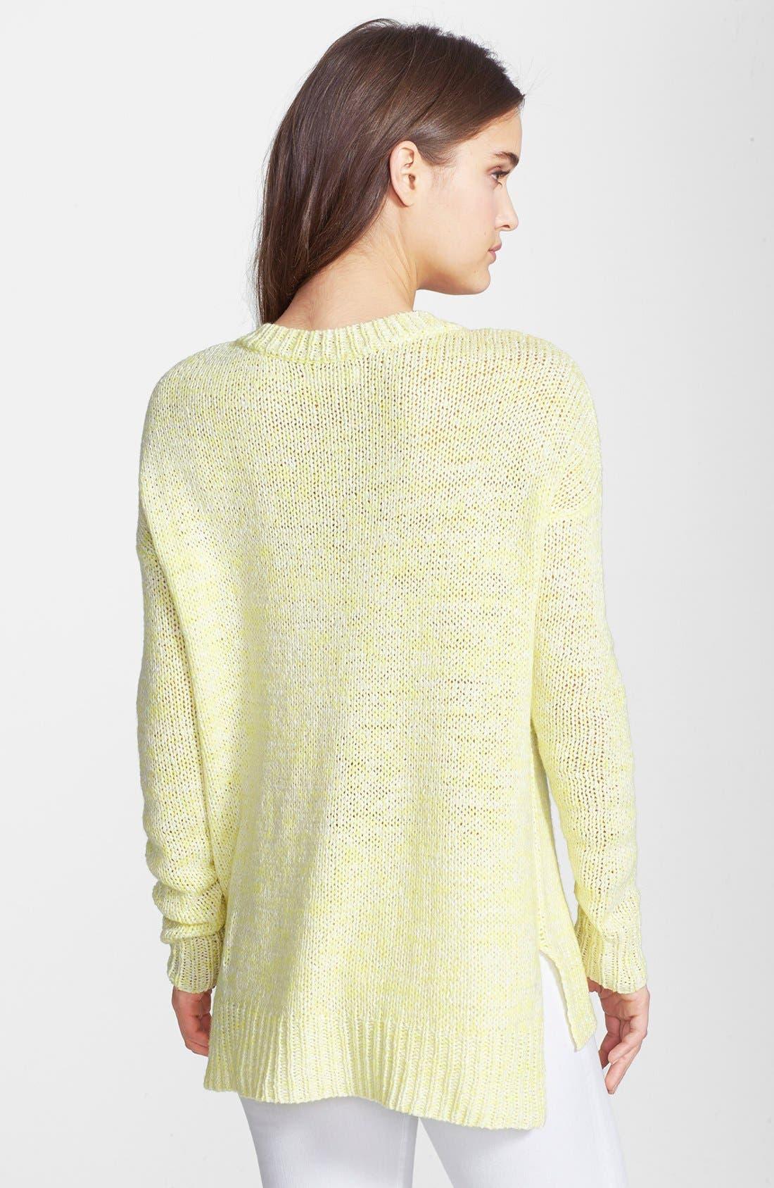 Alternate Image 2  - Velvet by Graham & Spencer Marled Knit Sweater