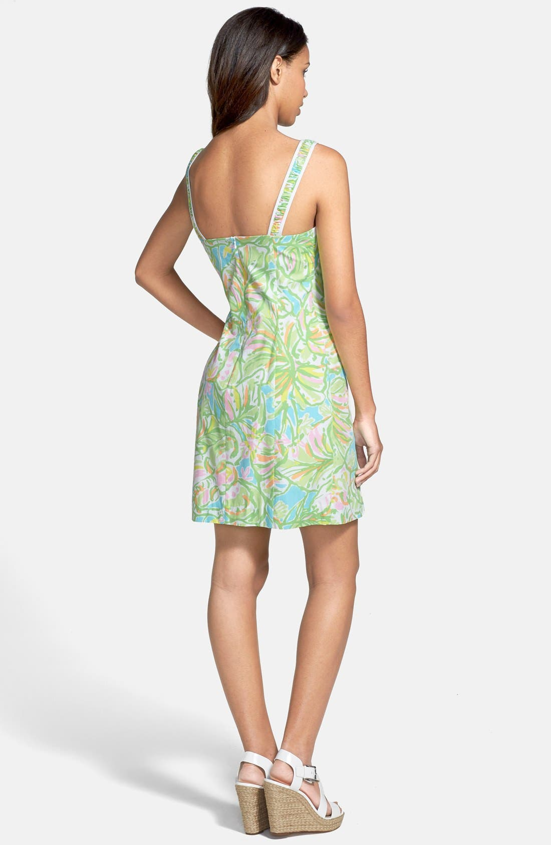 Alternate Image 2  - Lilly Pulitzer® 'Fryer' Print Cotton Poplin Shift Dress