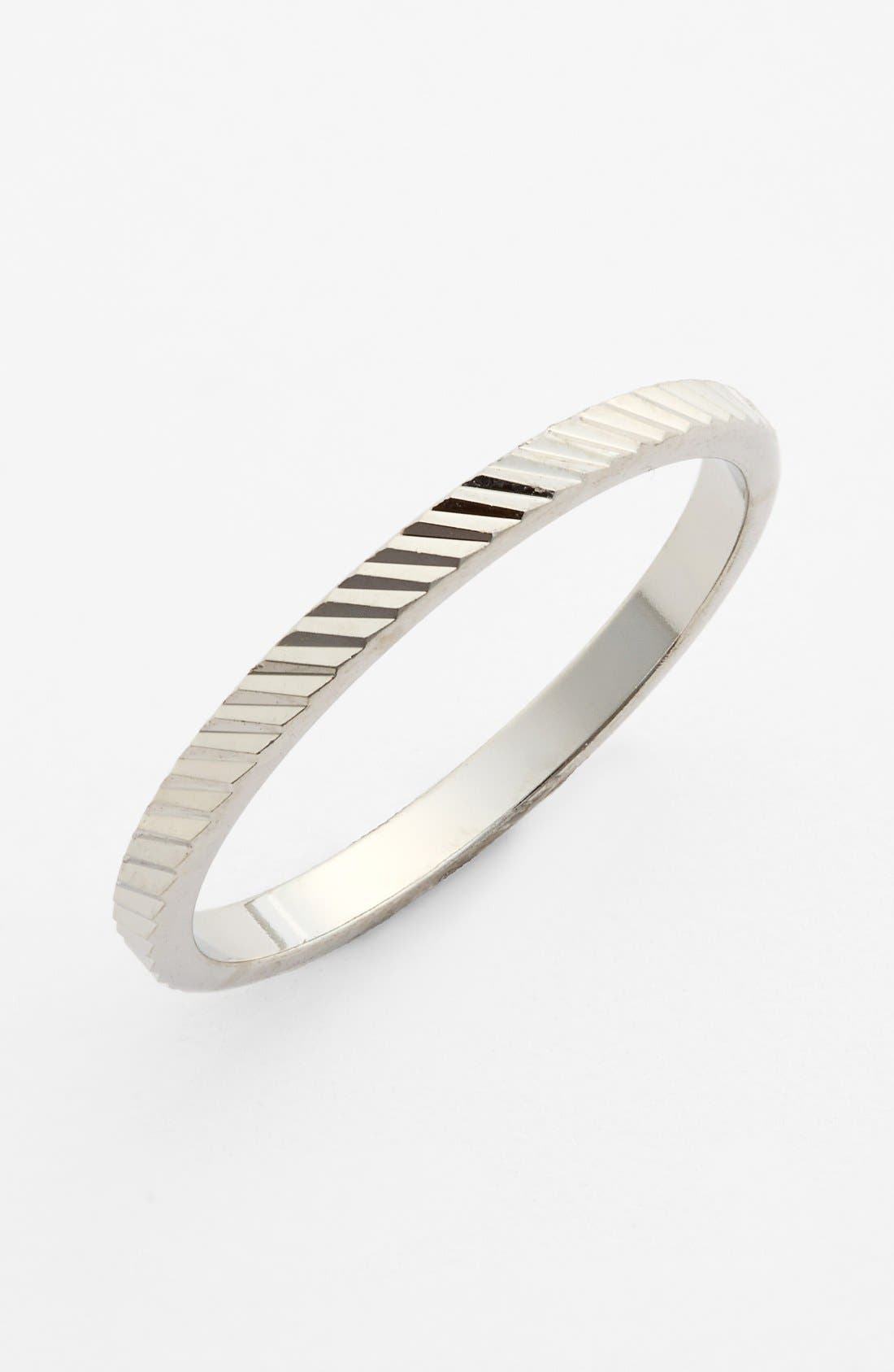 Alternate Image 1 Selected - Rachel Etched Midi Ring (Juniors)