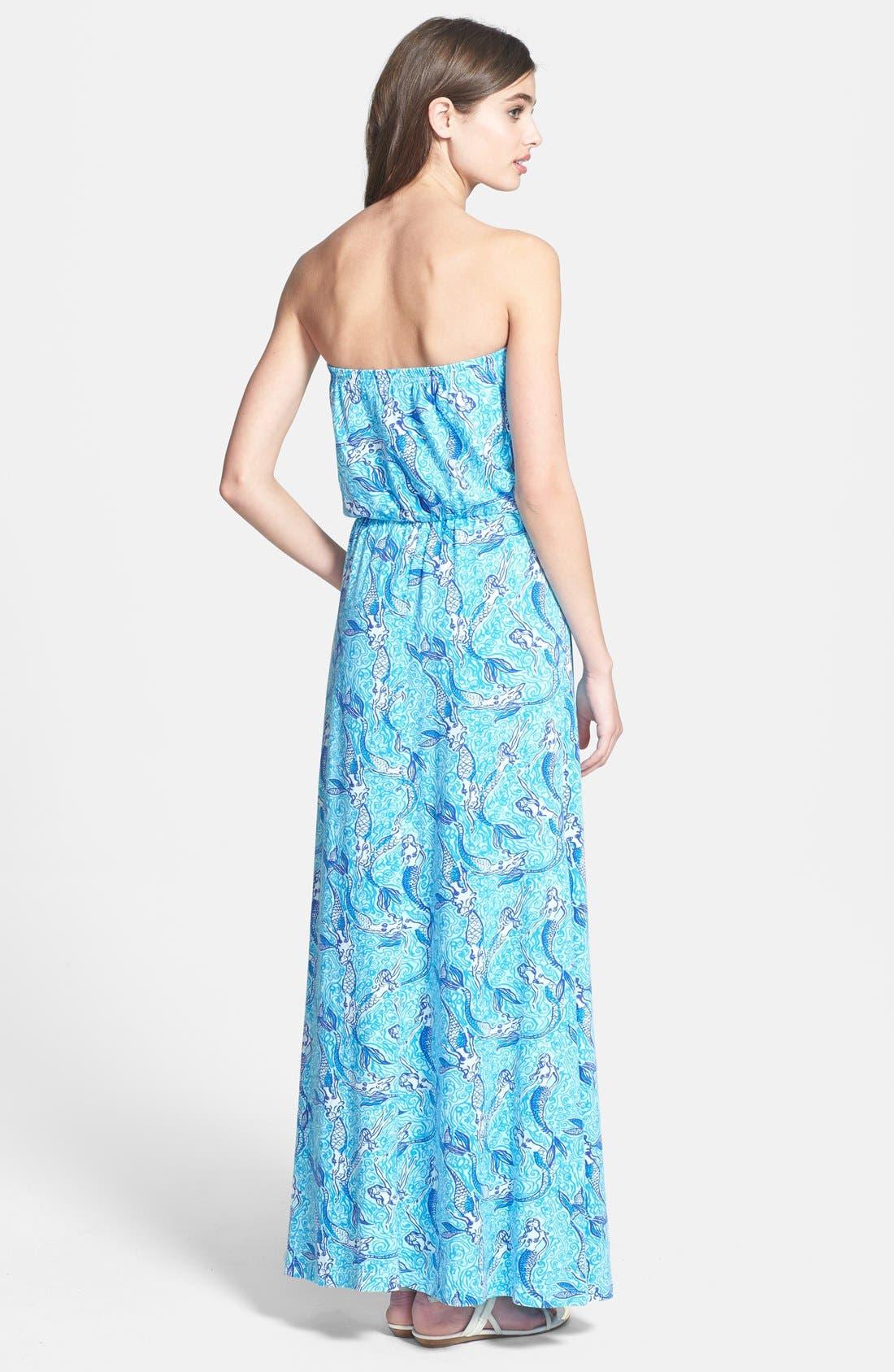 Alternate Image 2  - Lilly Pulitzer® 'Marlisa' Print Blouson Jersey Maxi Dress
