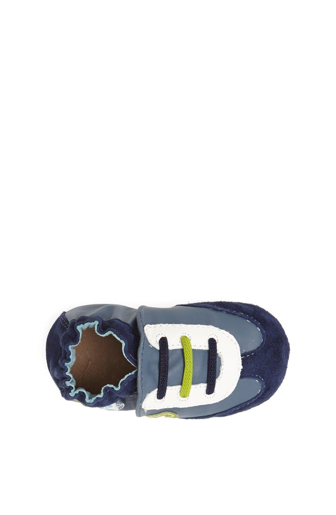 Alternate Image 3  - Robeez® 'All Star Rodney' Crib Shoe (Baby & Walker)