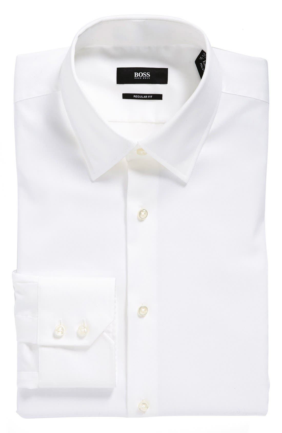 Alternate Image 1 Selected - BOSS HUGO BOSS 'Enzo' WW Regular Fit Easy Iron Dress Shirt