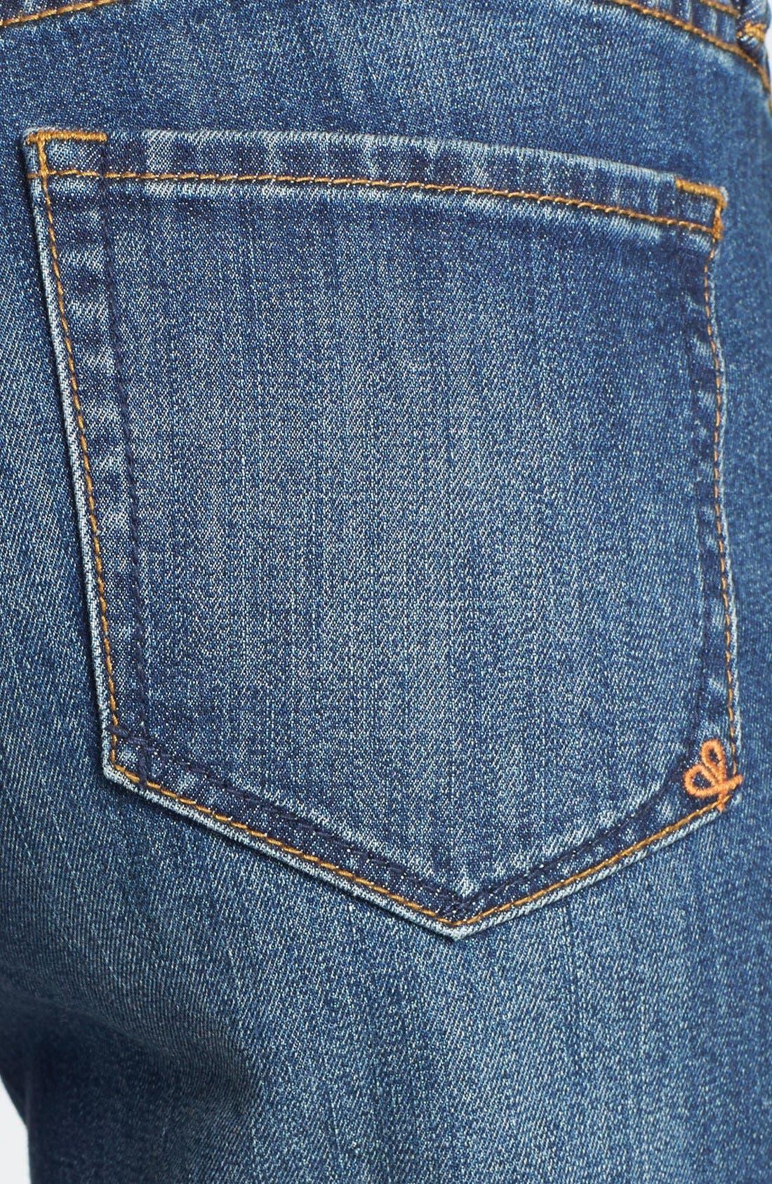 Alternate Image 3  - Dittos 'Charlie' Destroyed Boyfriend Jeans (Lady Foot)