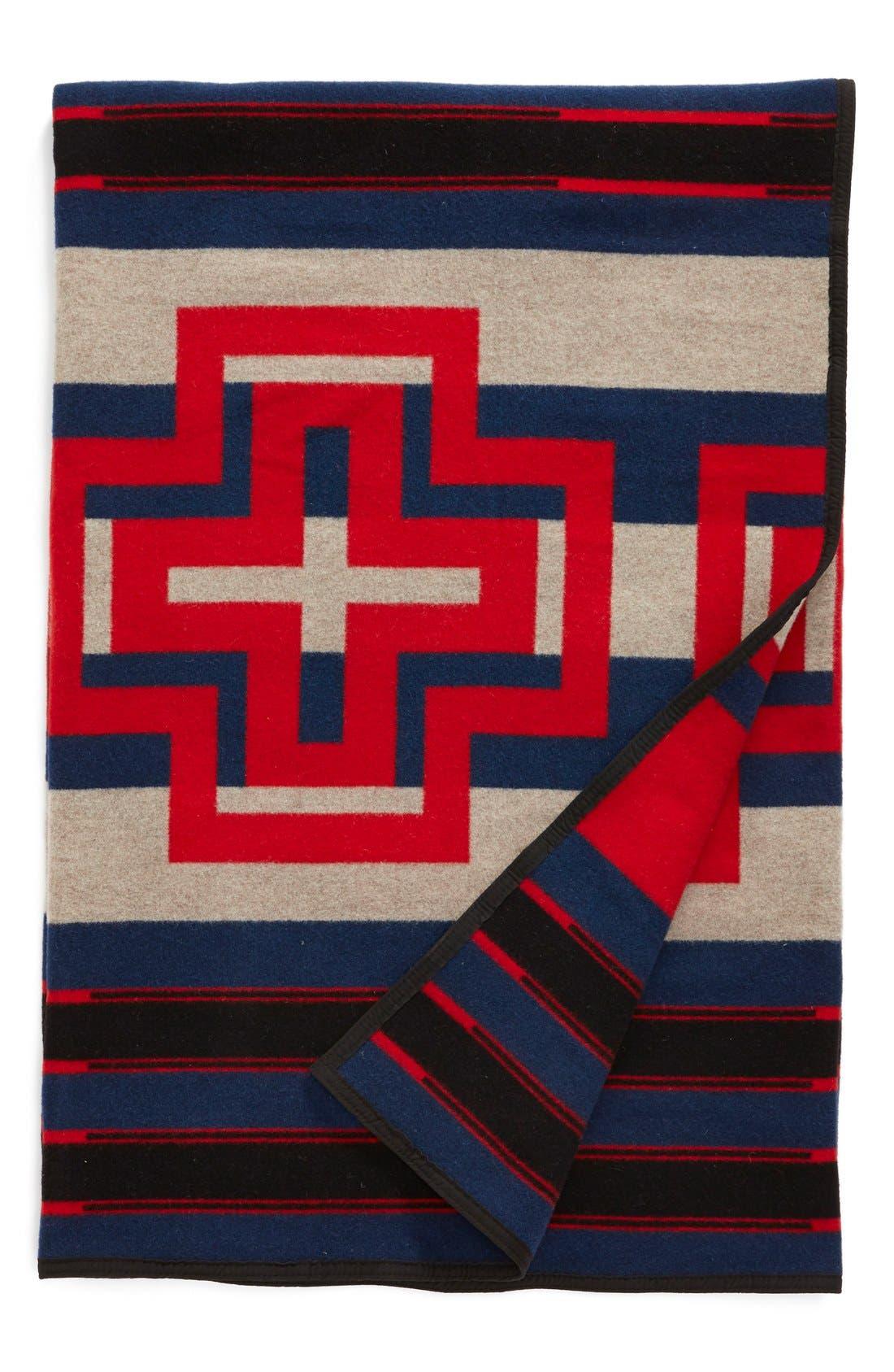 Alternate Image 2  - Pendleton 'Compass Stripe' Queen Blanket