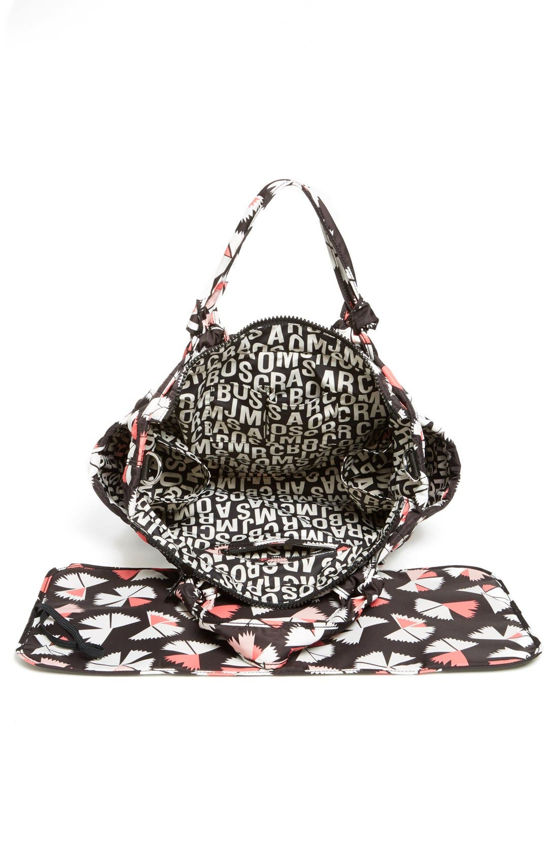 Alternate Image 3  - MARC BY MARC JACOBS 'Eliz-a-Baby - Pinwheel' Diaper Bag