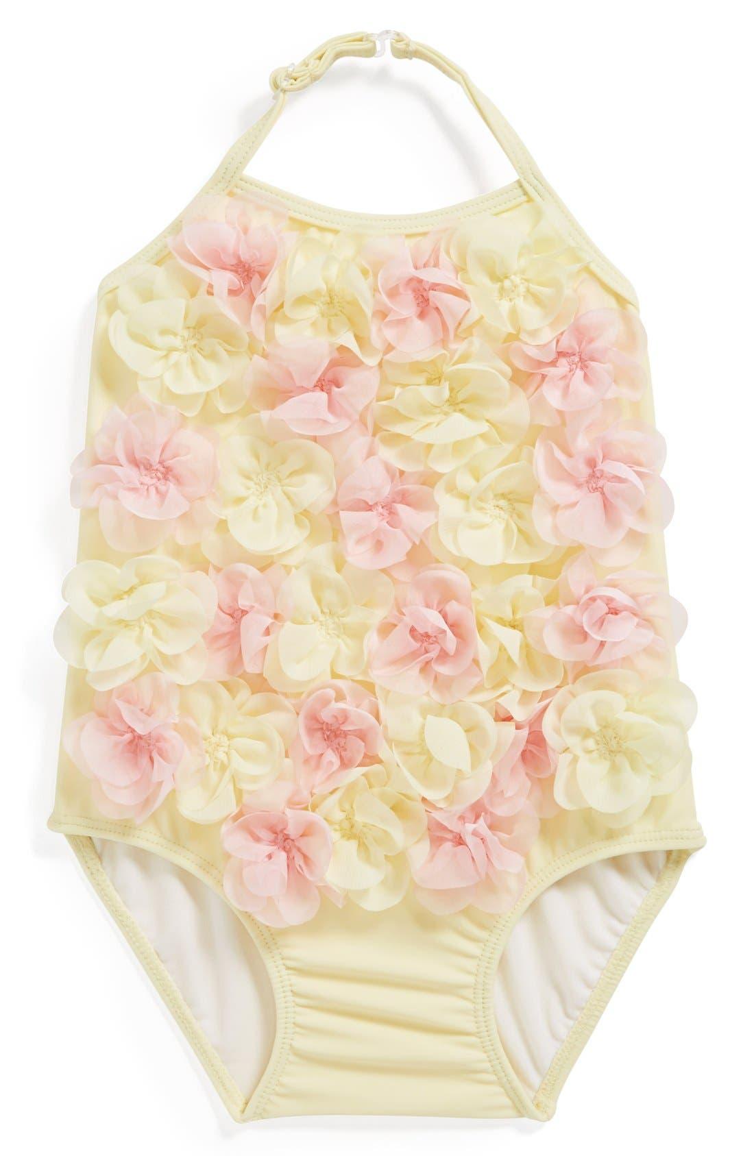 Main Image - Kate Mack One-Piece Swimsuit (Baby Girls)