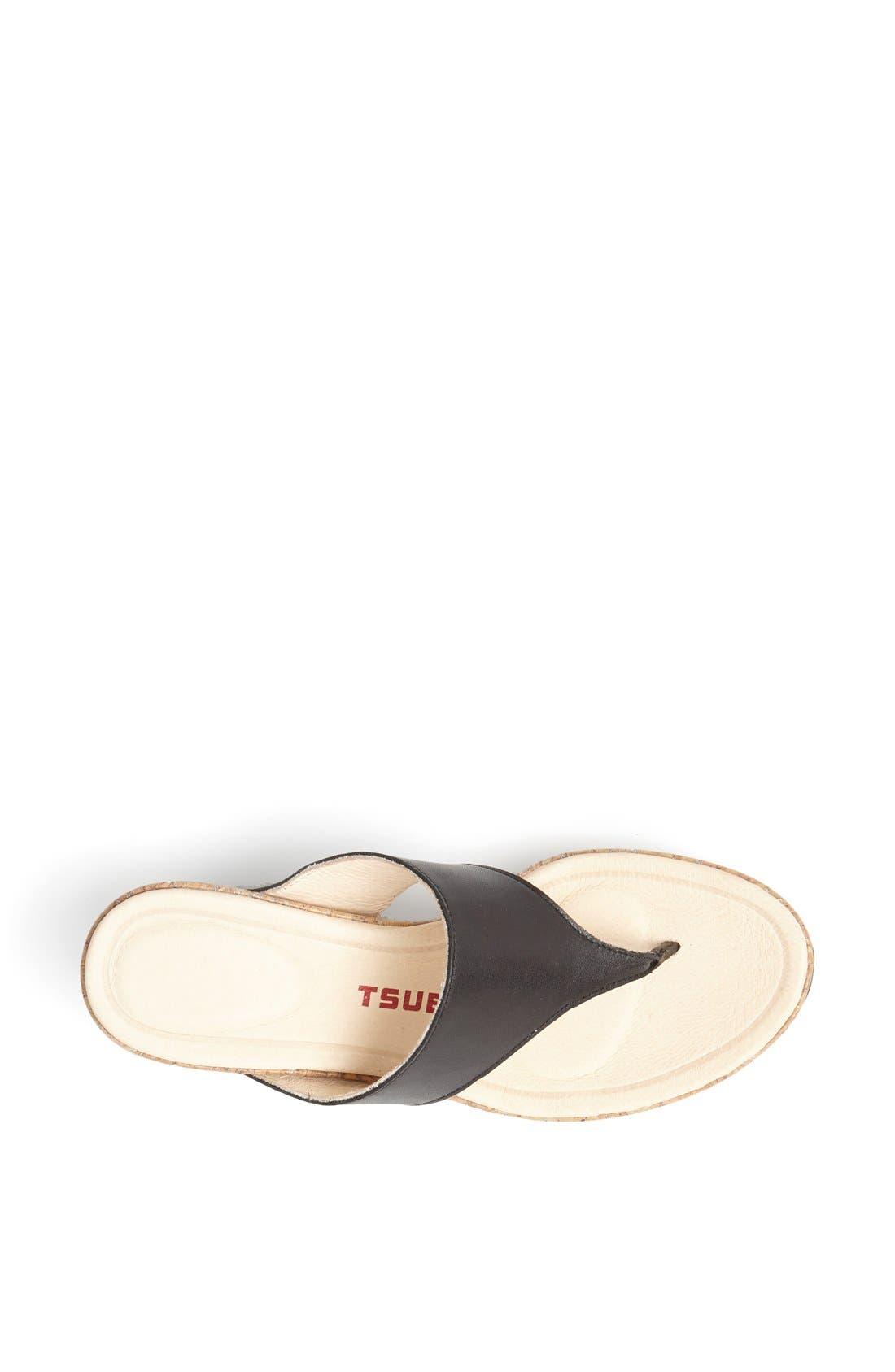 Alternate Image 3  - Tsubo 'Odelle' Wedge Thong Sandal