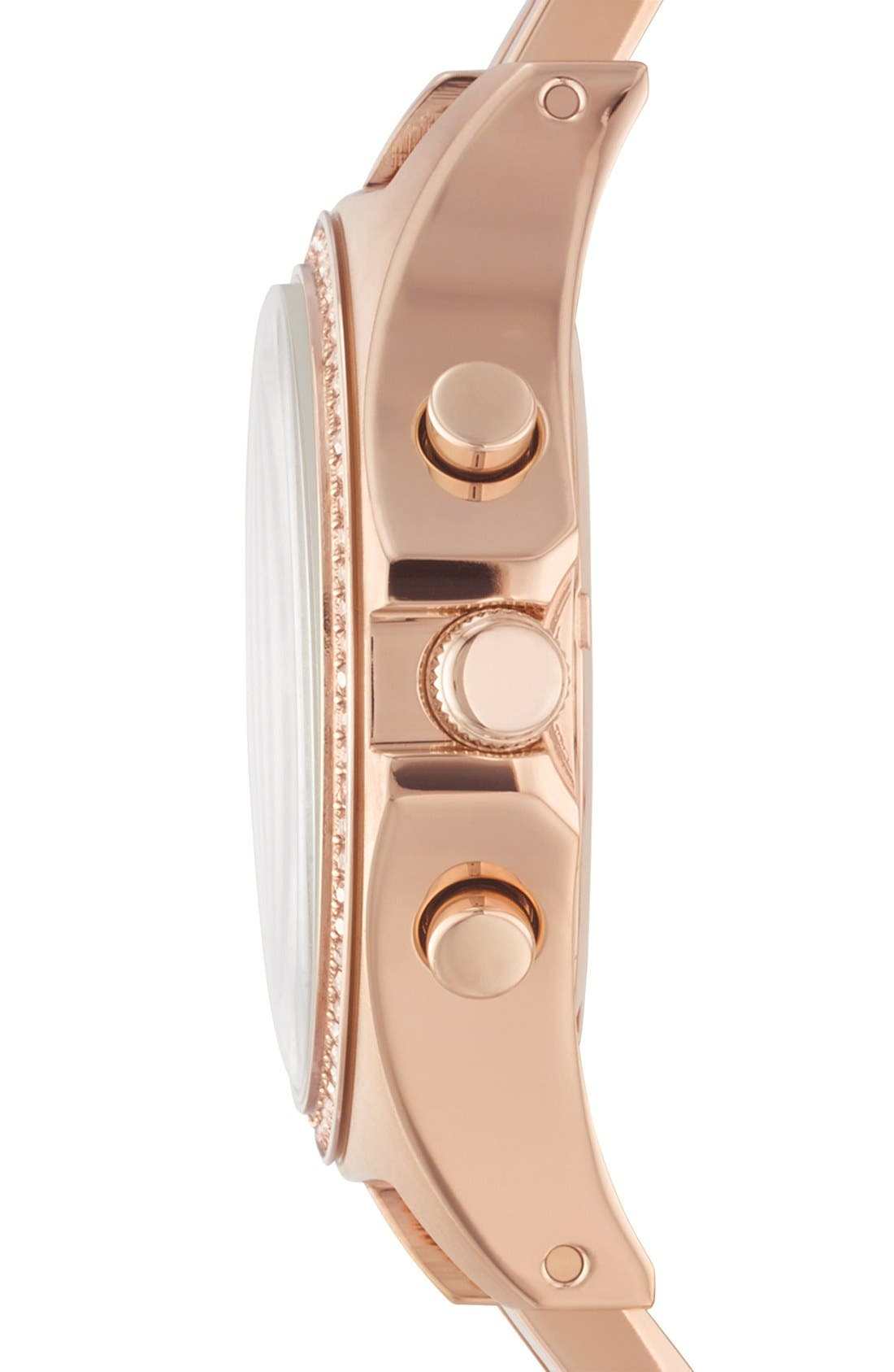 Alternate Image 3  - MARC BY MARC JACOBS 'Henry Glitz' Chronograph Bracelet Watch, 37mm