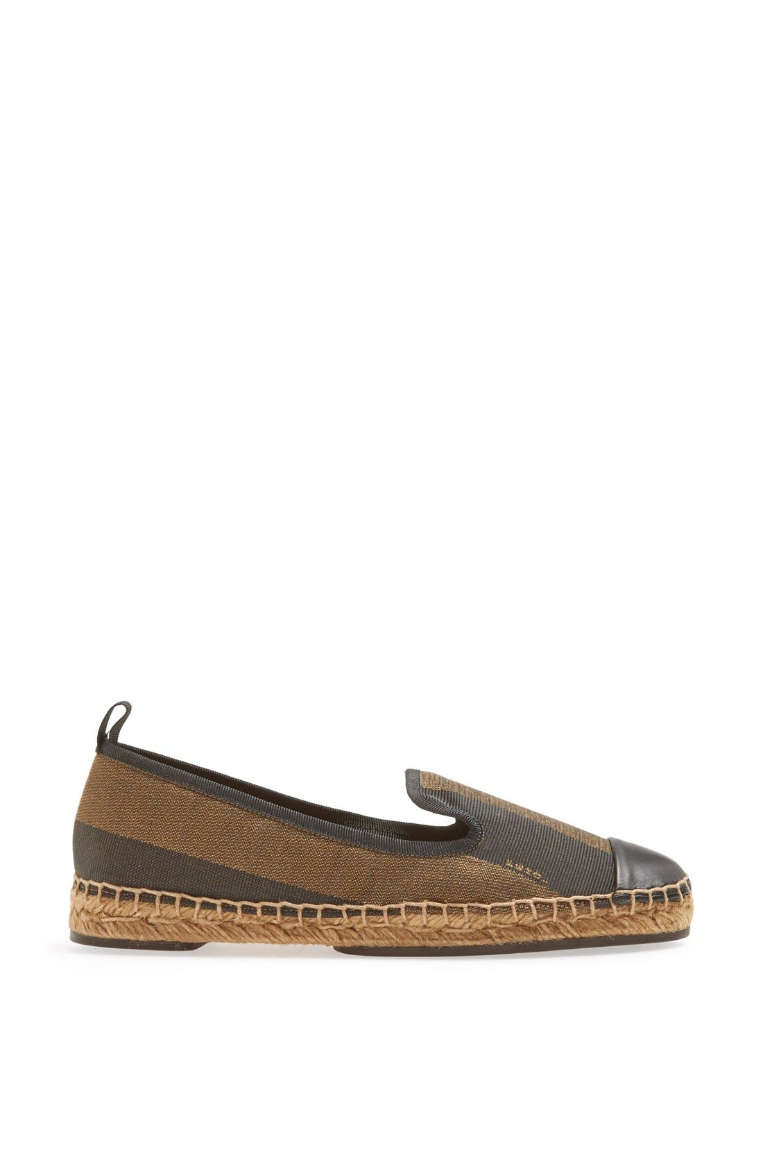 Alternate Image 4  - Fendi 'Junia' Espadrille Flat (Women)