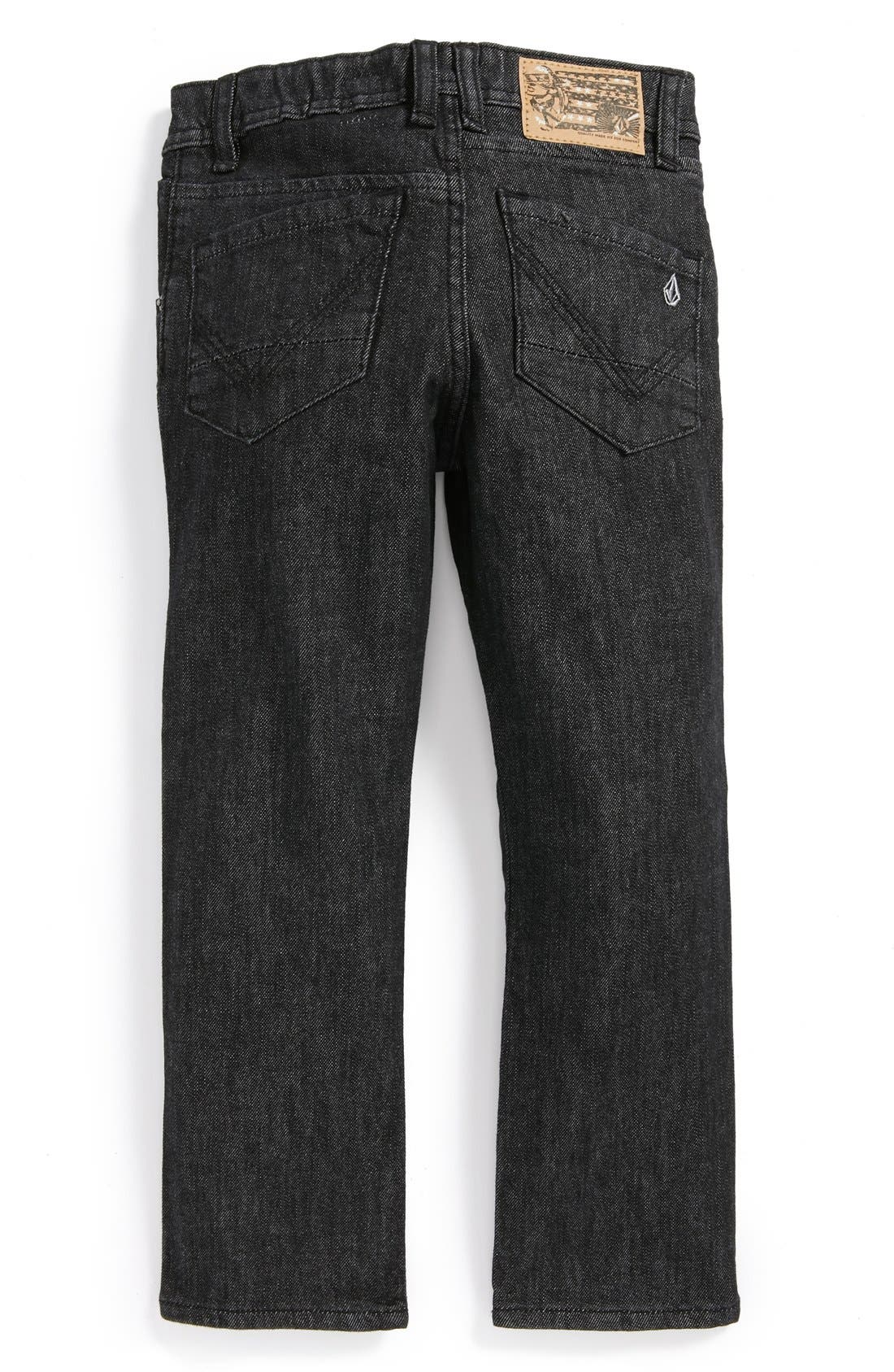 Main Image - Volcom 'Nova Little'  Modern Straight Leg Jeans (Little Boys)