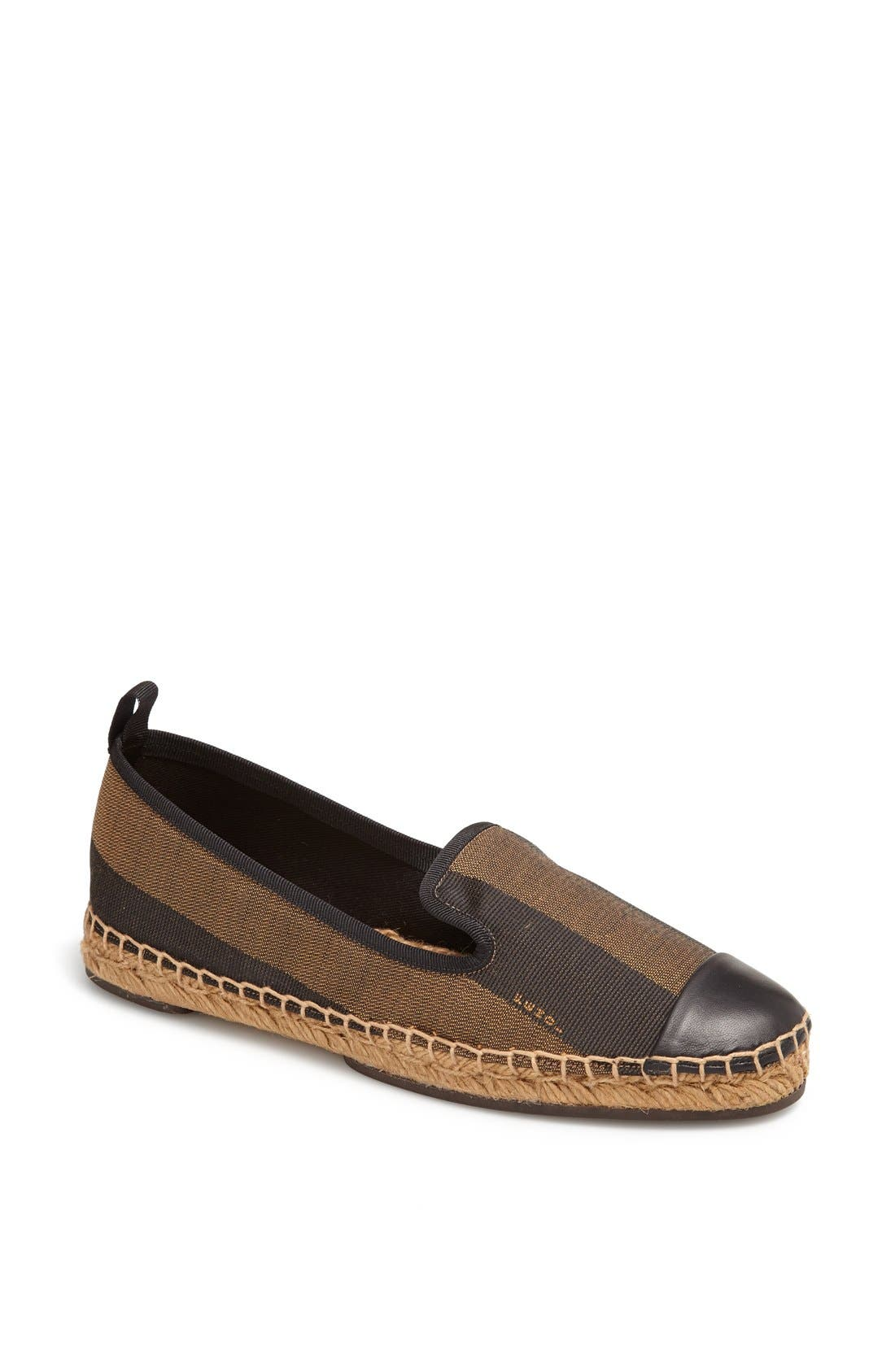 Alternate Image 1 Selected - Fendi 'Junia' Espadrille Flat (Women)