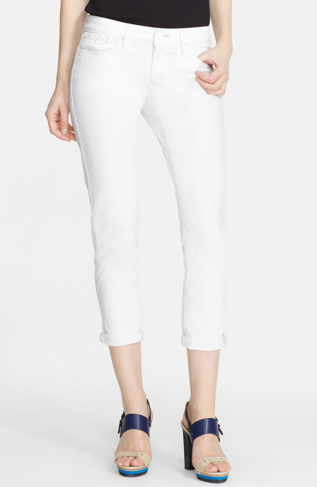Main Image - Habitual 'Aaron' Rolled Crop Jeans