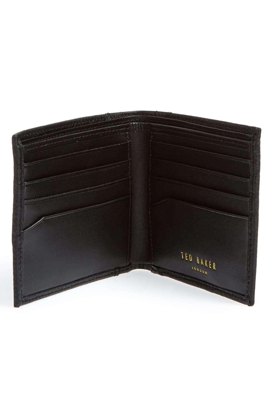 Alternate Image 2  - Ted Baker London 'Brogue' Leather Bifold Wallet