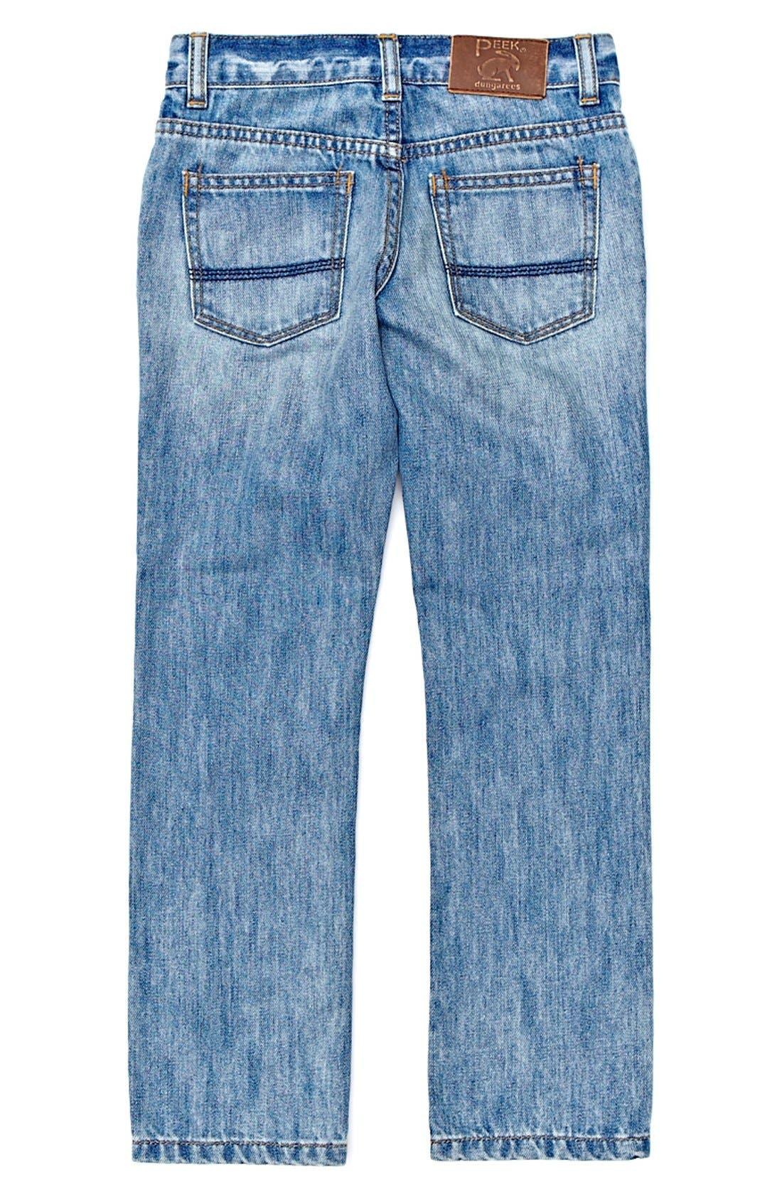 Alternate Image 1 Selected - Peek 'Slouch' Jeans (Big Boys)