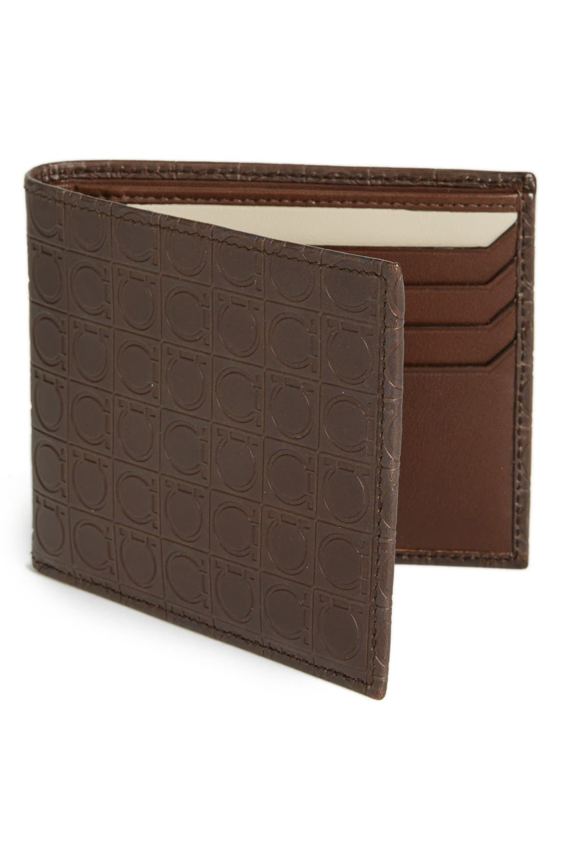 Alternate Image 1 Selected - Salvatore Ferragamo Leather Wallet