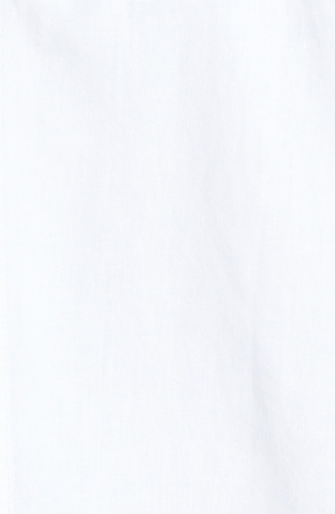 Alternate Image 3  - Eileen Fisher Classic Collar Short Sleeve Jacket (Regular & Petite)