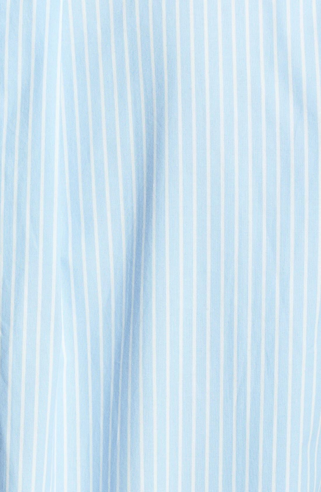 Alternate Image 3  - Lauren Ralph Lauren Poplin Sleep Shirt