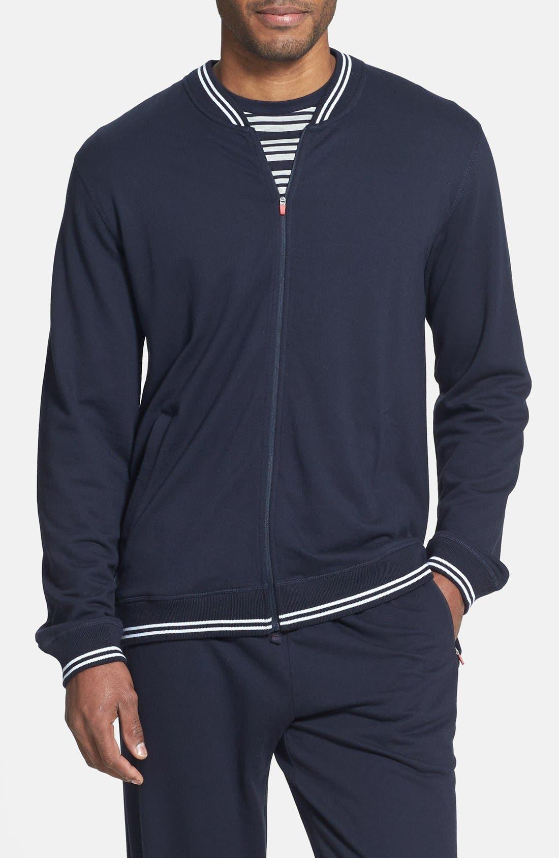Main Image - Daniel Buchler Pima Cotton & Modal Track Jacket