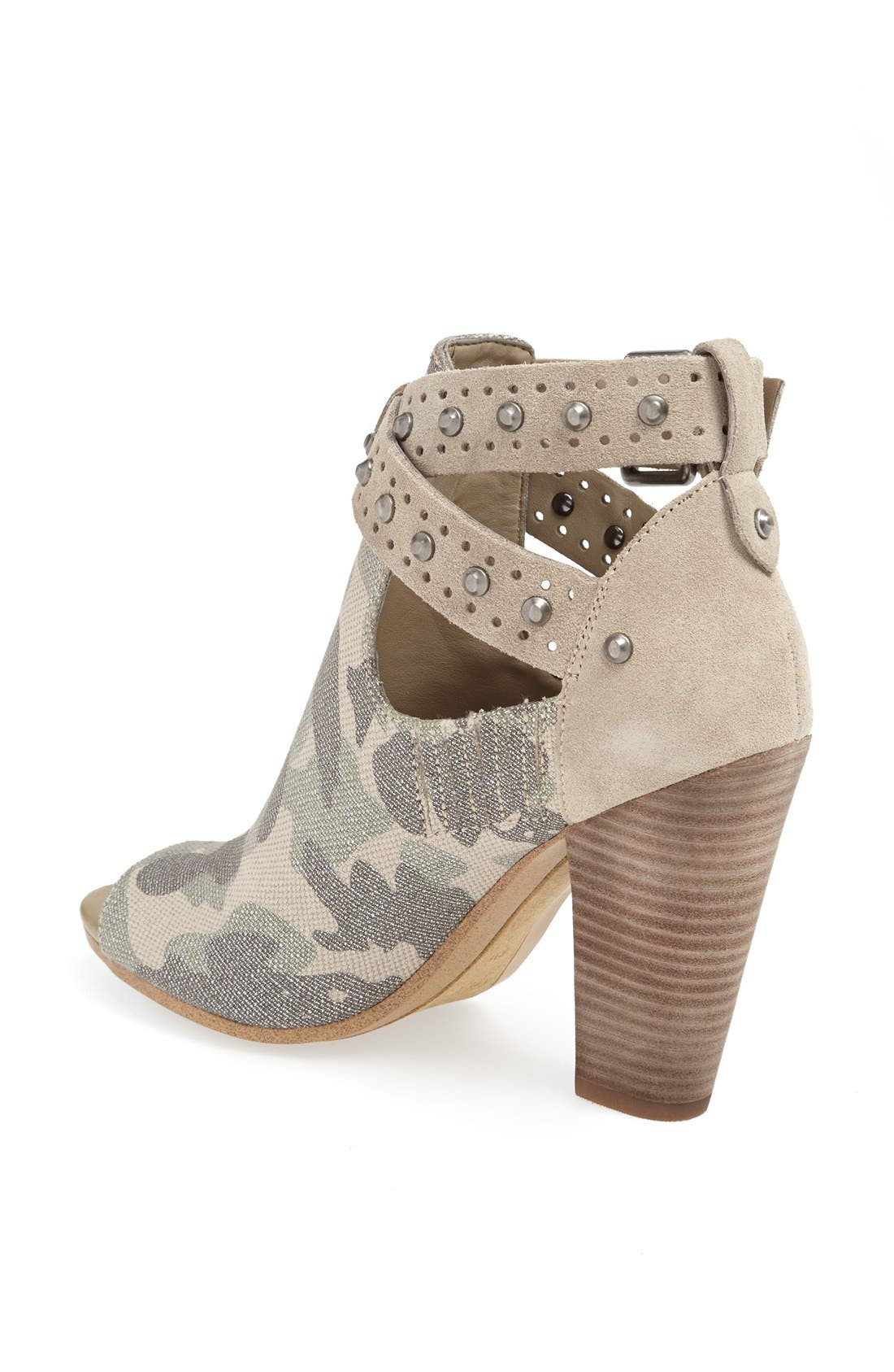 Alternate Image 2  - GUESS 'Bagent' Cutout Camo Bootie