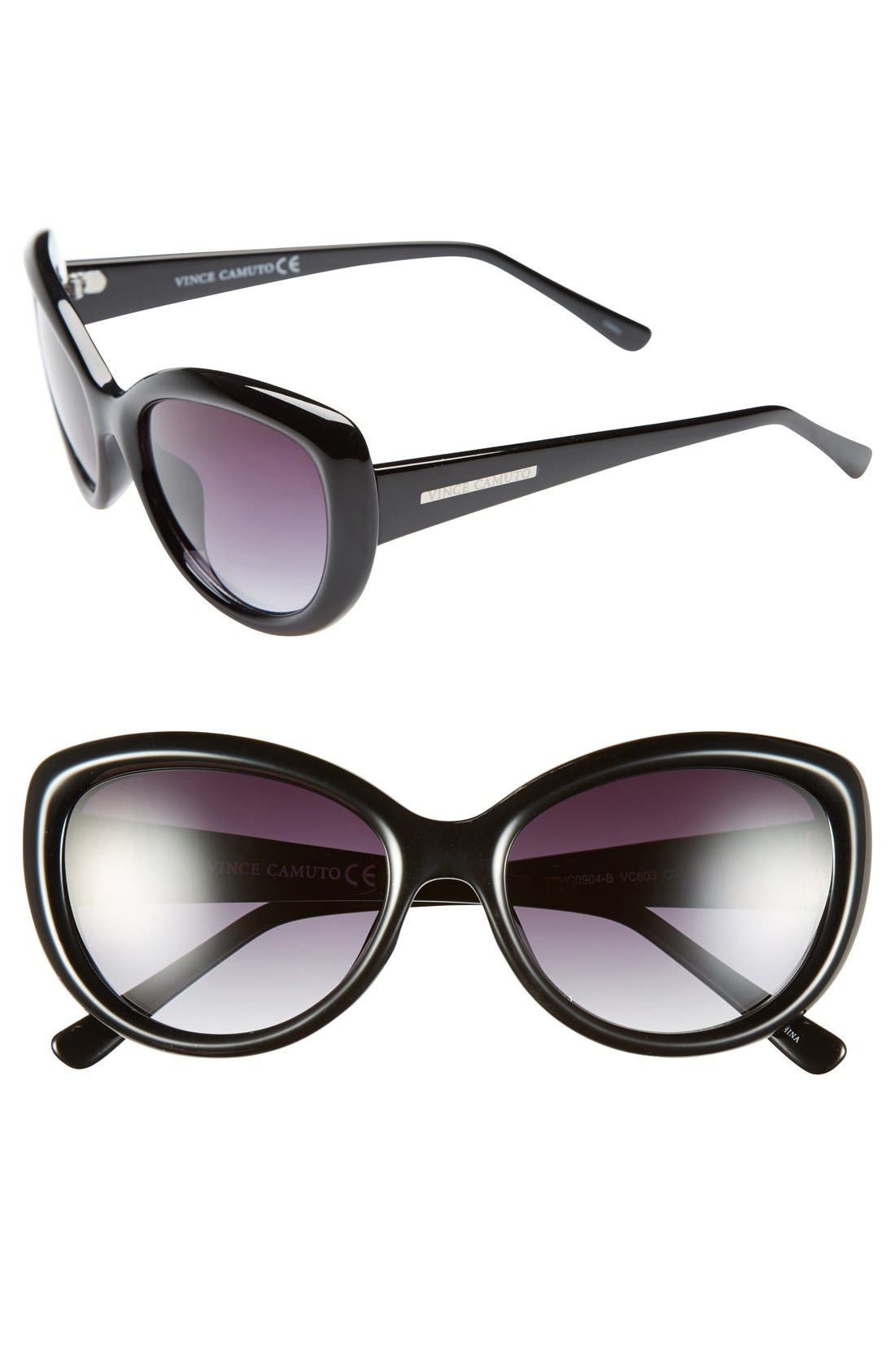 Alternate Image 1 Selected - Vince Camuto 59mm Cat Eye Sunglasses