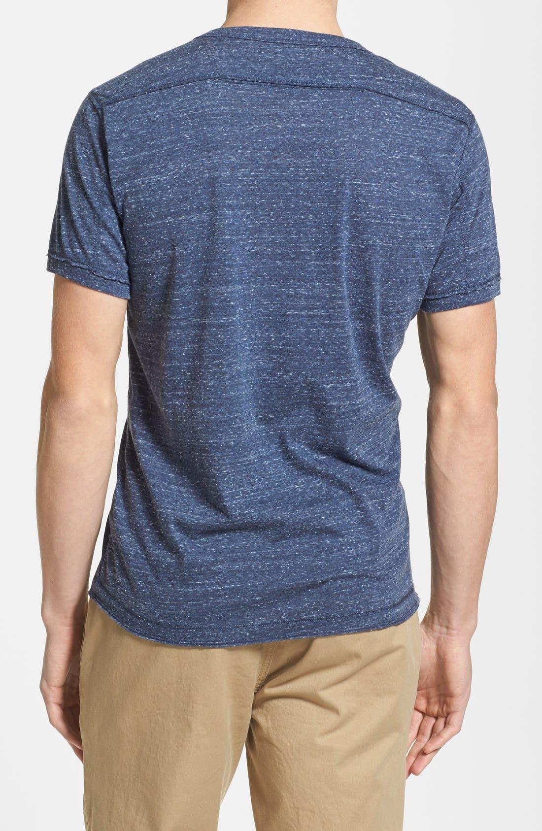 Alternate Image 2  - DIESEL® Slub Henley T-Shirt