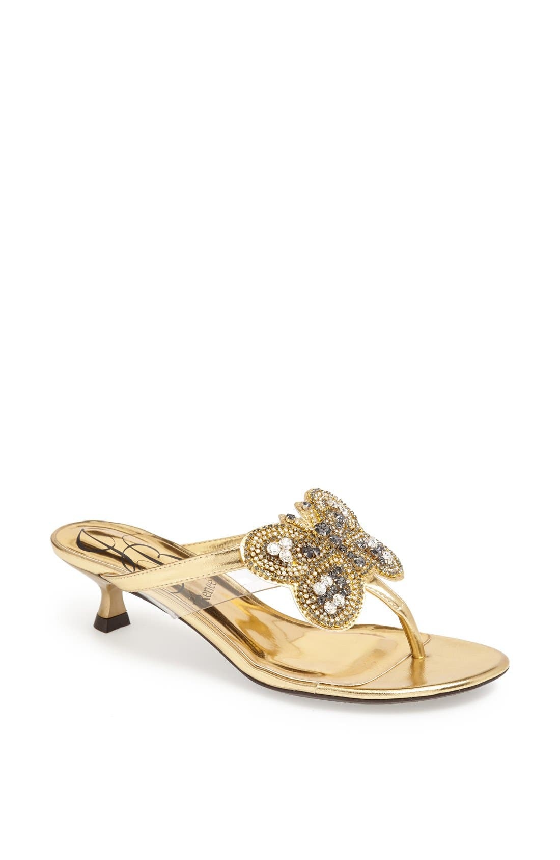 Alternate Image 1 Selected - J. Reneé 'Imbrie' Embellished Thong Sandal