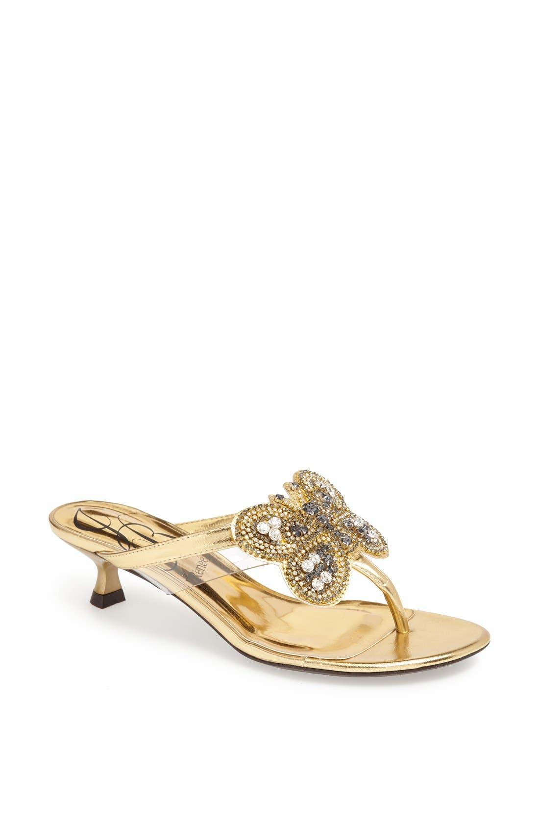 Main Image - J. Reneé 'Imbrie' Embellished Thong Sandal