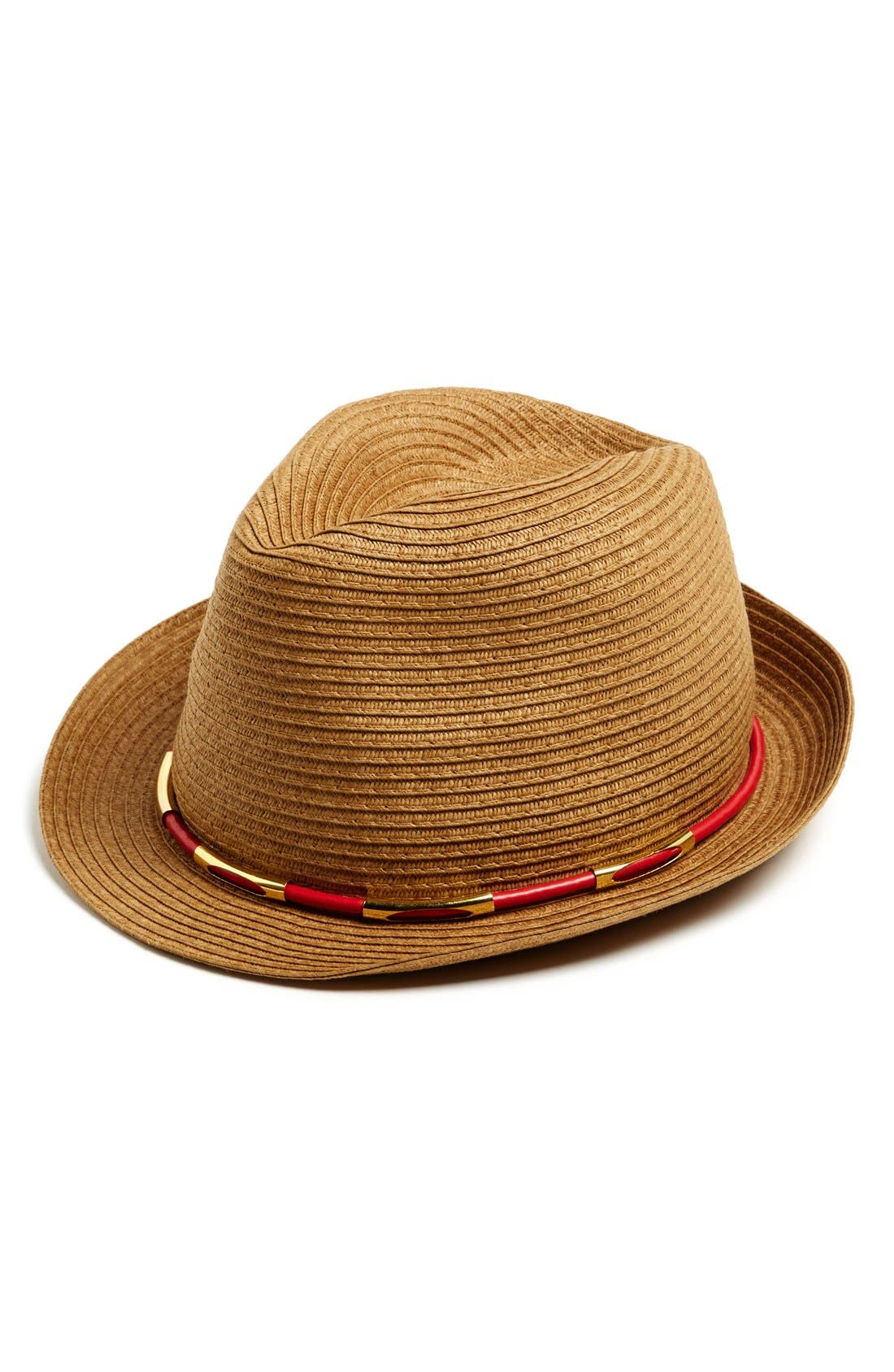 Alternate Image 1 Selected - Vince Camuto Metal Accent Fedora