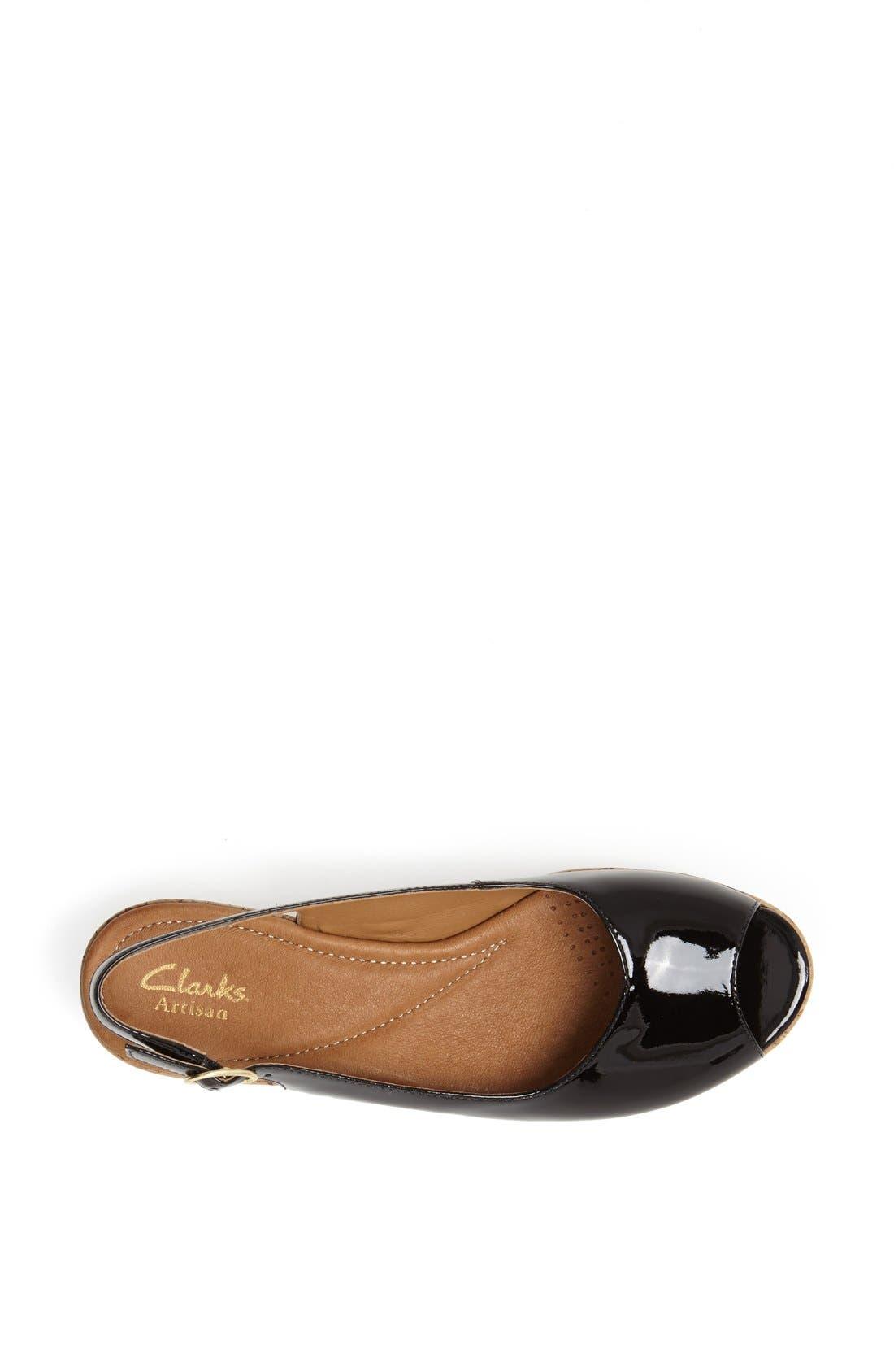 Alternate Image 4  - Clarks® 'Orlena Currant' Sandal (Regular Retail Price: $99.95)