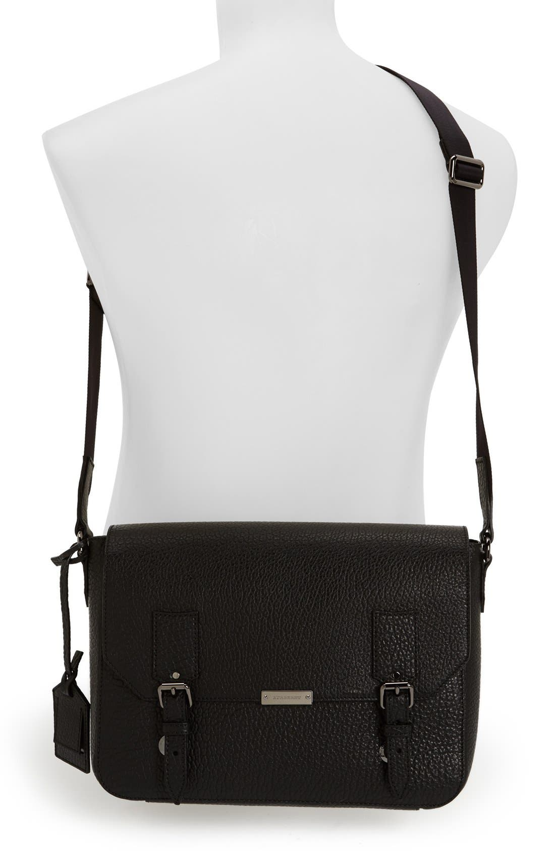 Alternate Image 2  - Burberry 'Small Grifford' Leather Messenger Bag