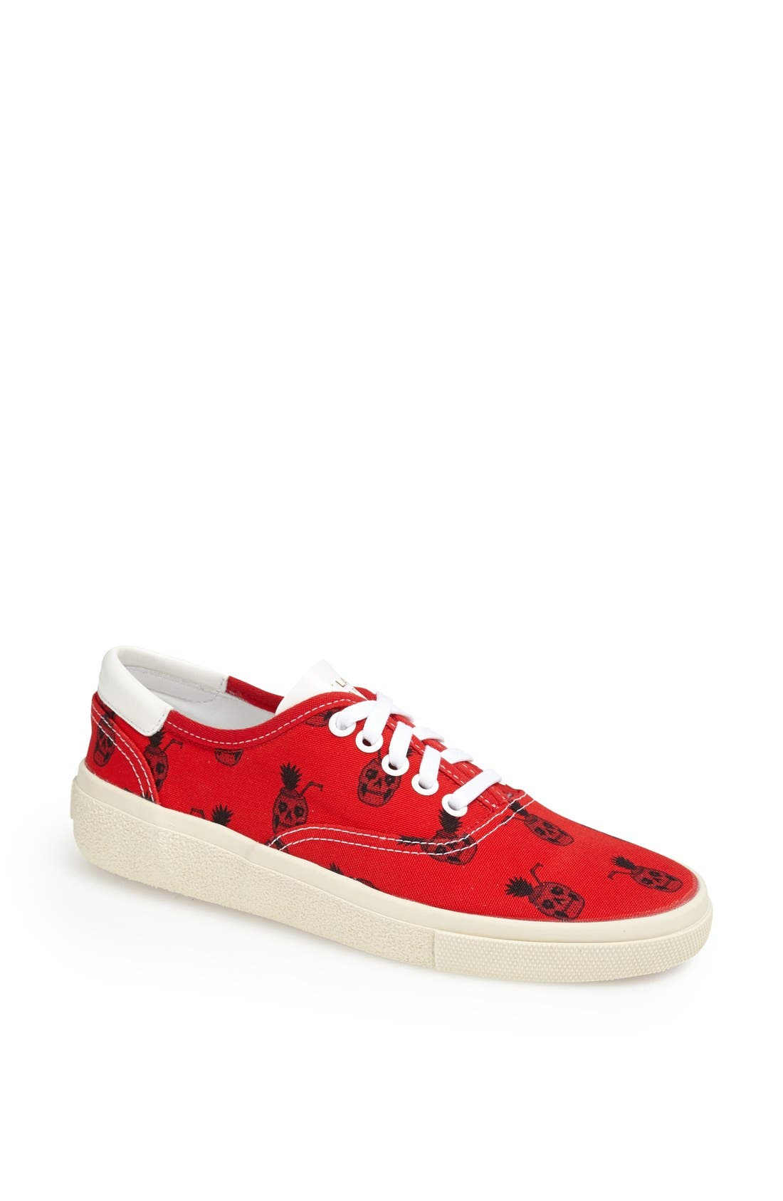 Alternate Image 1 Selected - Saint Laurent 'Pinaskullada' Skull Print Sneaker