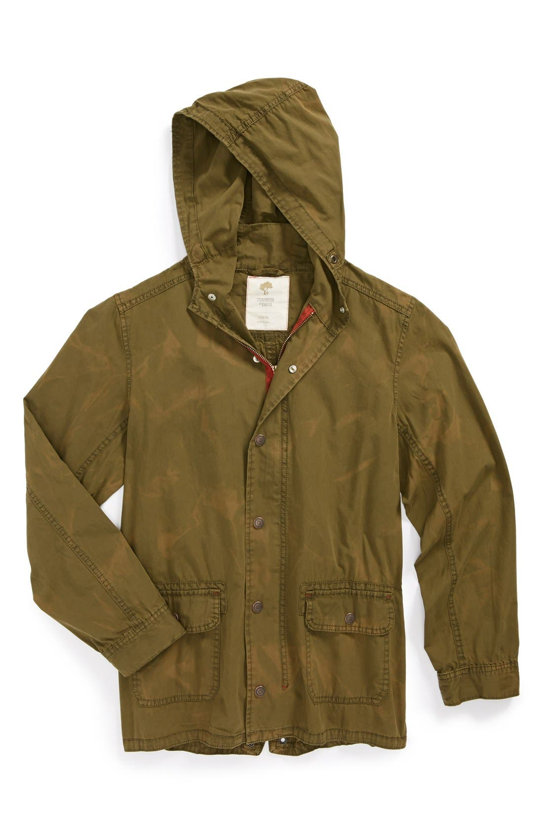 Main Image - Tucker + Tate 'Parker' Hooded Parka (Big Boys)