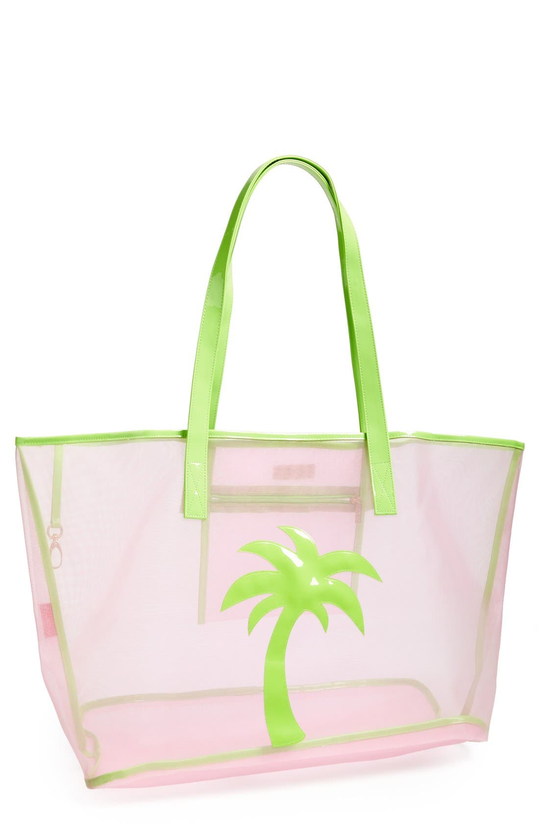 Alternate Image 1 Selected - Lolo 'Madison - Palm Tree' Mesh Tote