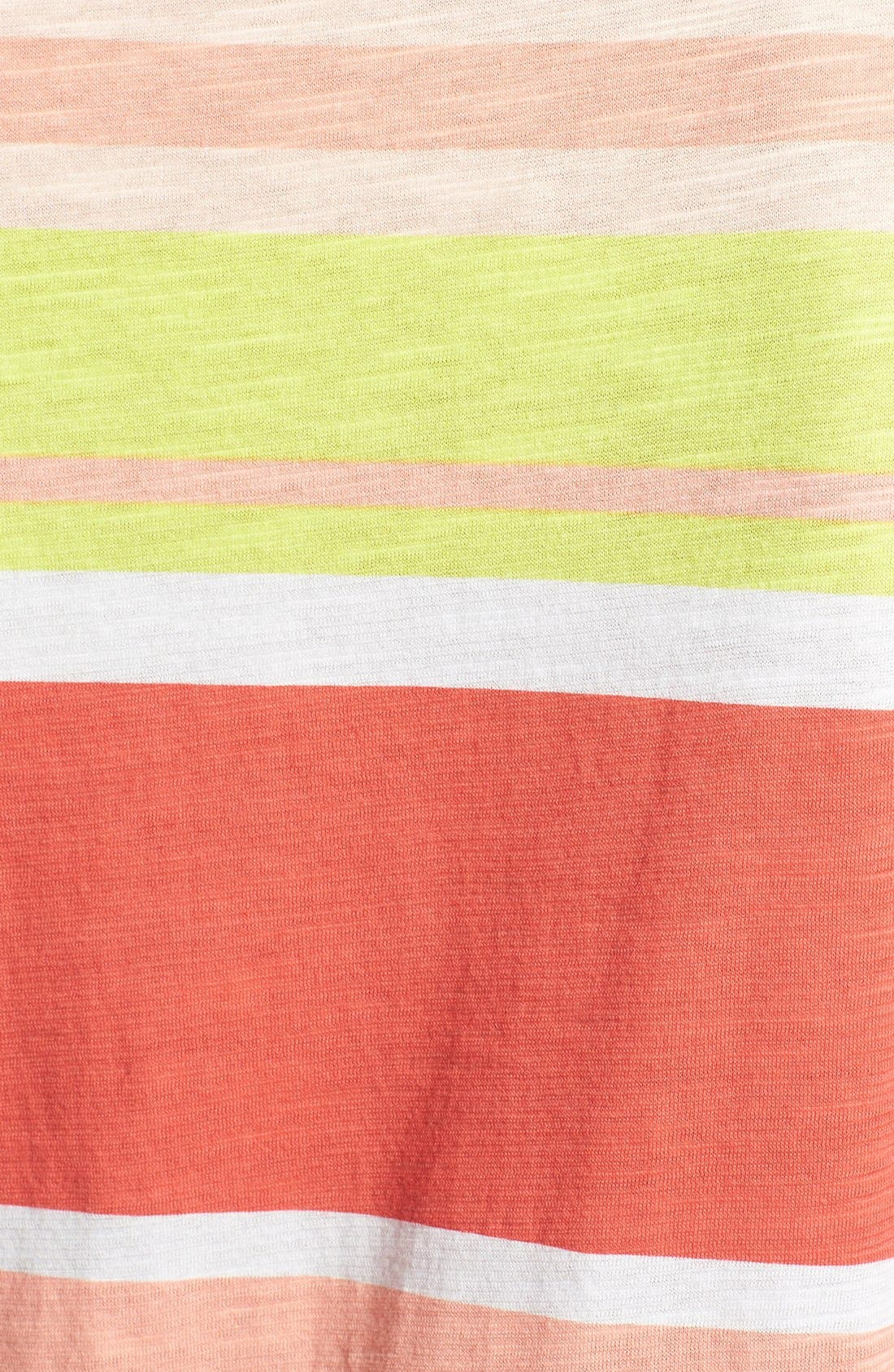 Alternate Image 3  - Two by Vince Camuto 'Stripe Row' Cotton Tee