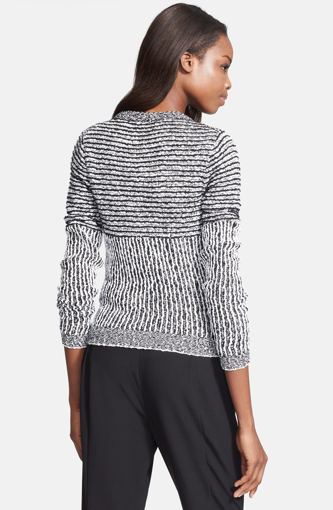 Alternate Image 2  - Tracy Reese Front Zip Sweater Cardigan