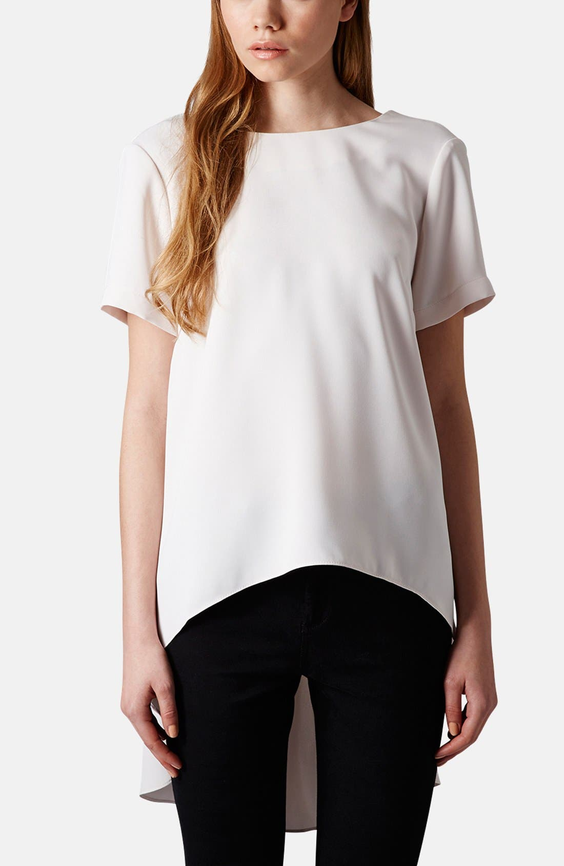 Alternate Image 1 Selected - Topshop High/Low Tunic