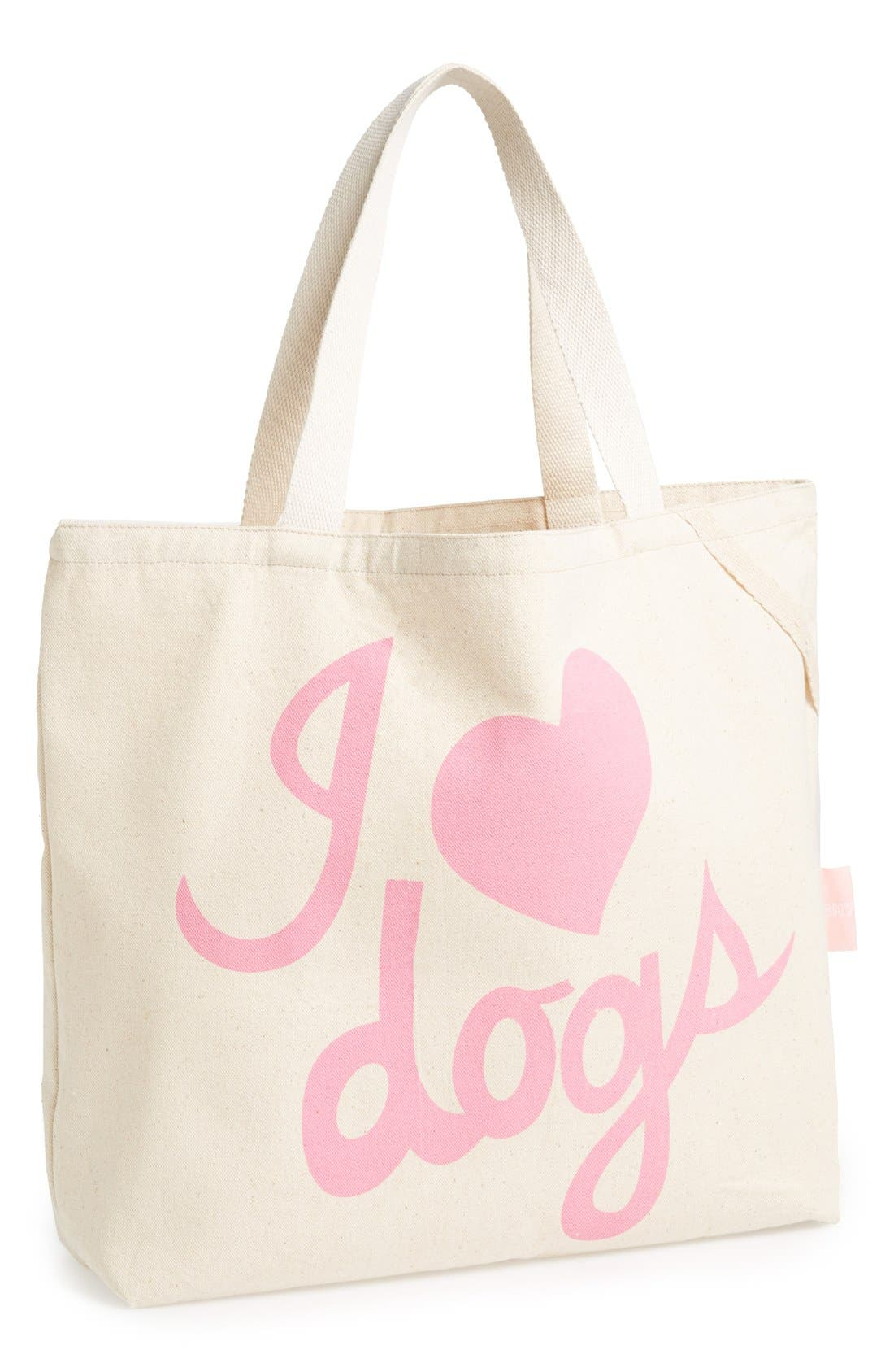 Alternate Image 1 Selected - Romy + Jacob 'I Love Dogs' Tote