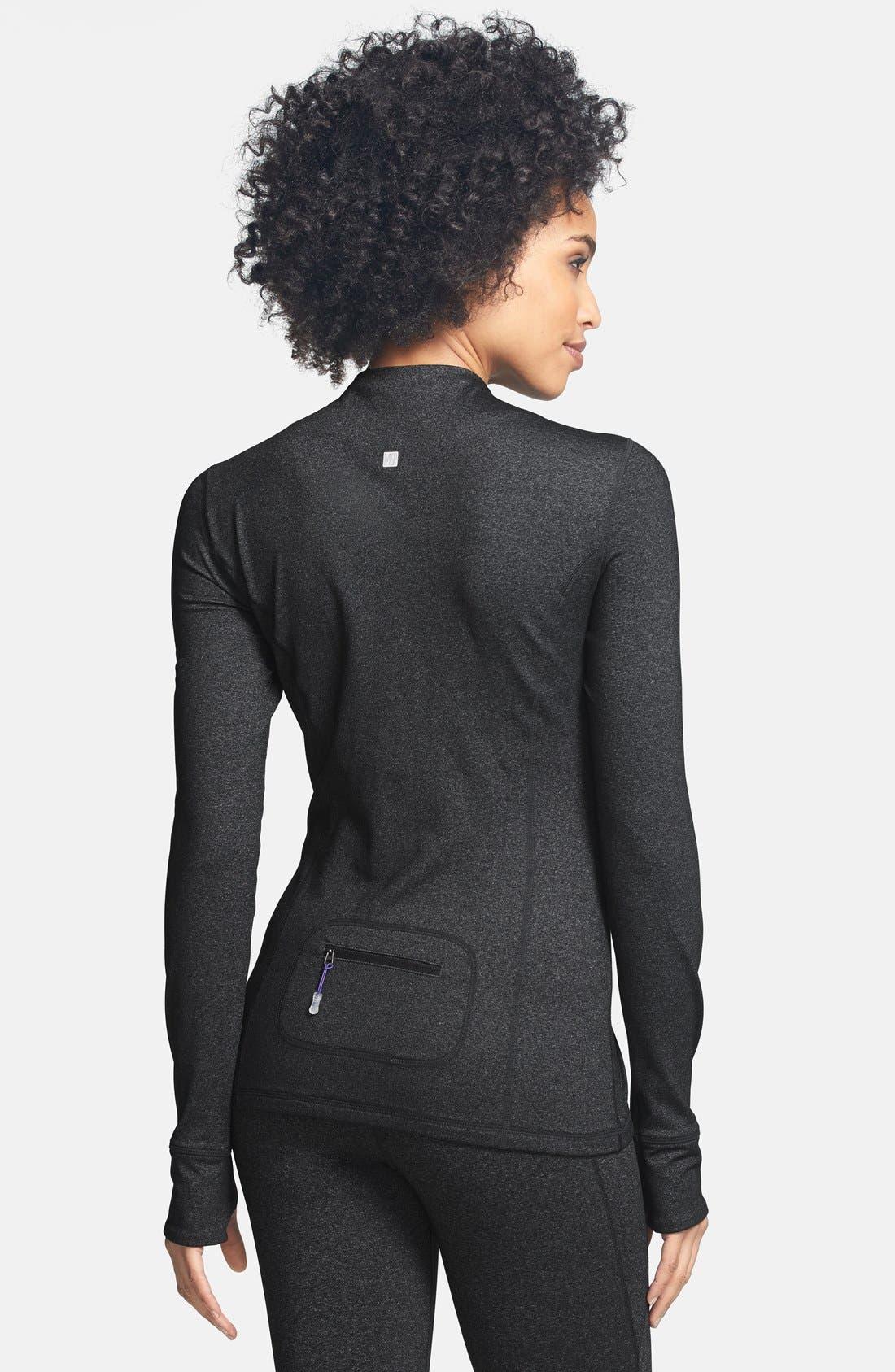 Alternate Image 2  - MSP by Miraclesuit® Miraslim Seamed Long Sleeve Jacket