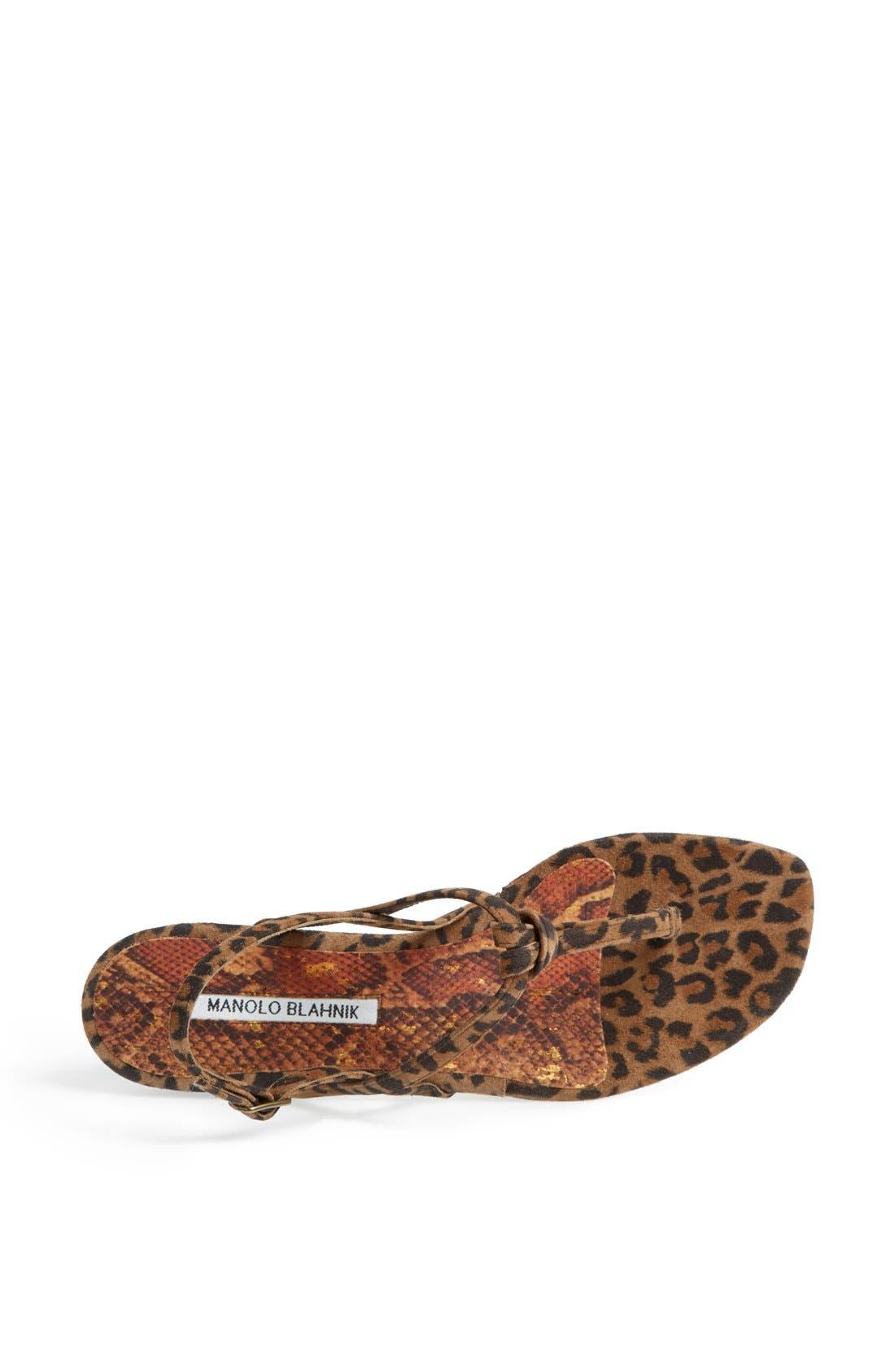 Alternate Image 3  - Manolo Blahnik 'Valig' Sandal