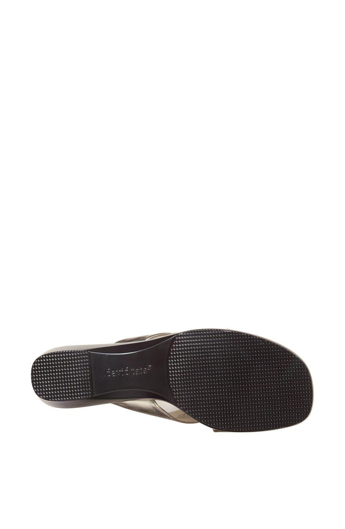 Alternate Image 4  - David Tate 'Luca' Slide Sandal