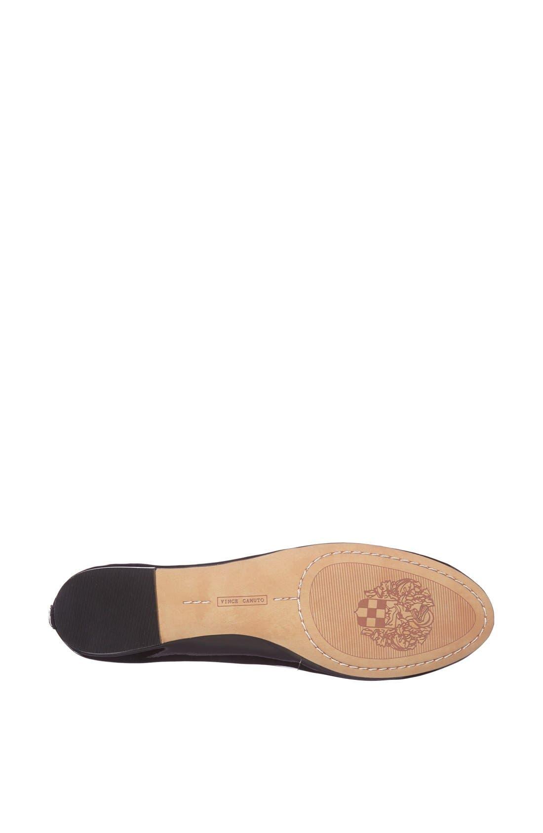 Alternate Image 4  - Vince Camuto 'Benningly' Patent Leather Ballet Flat