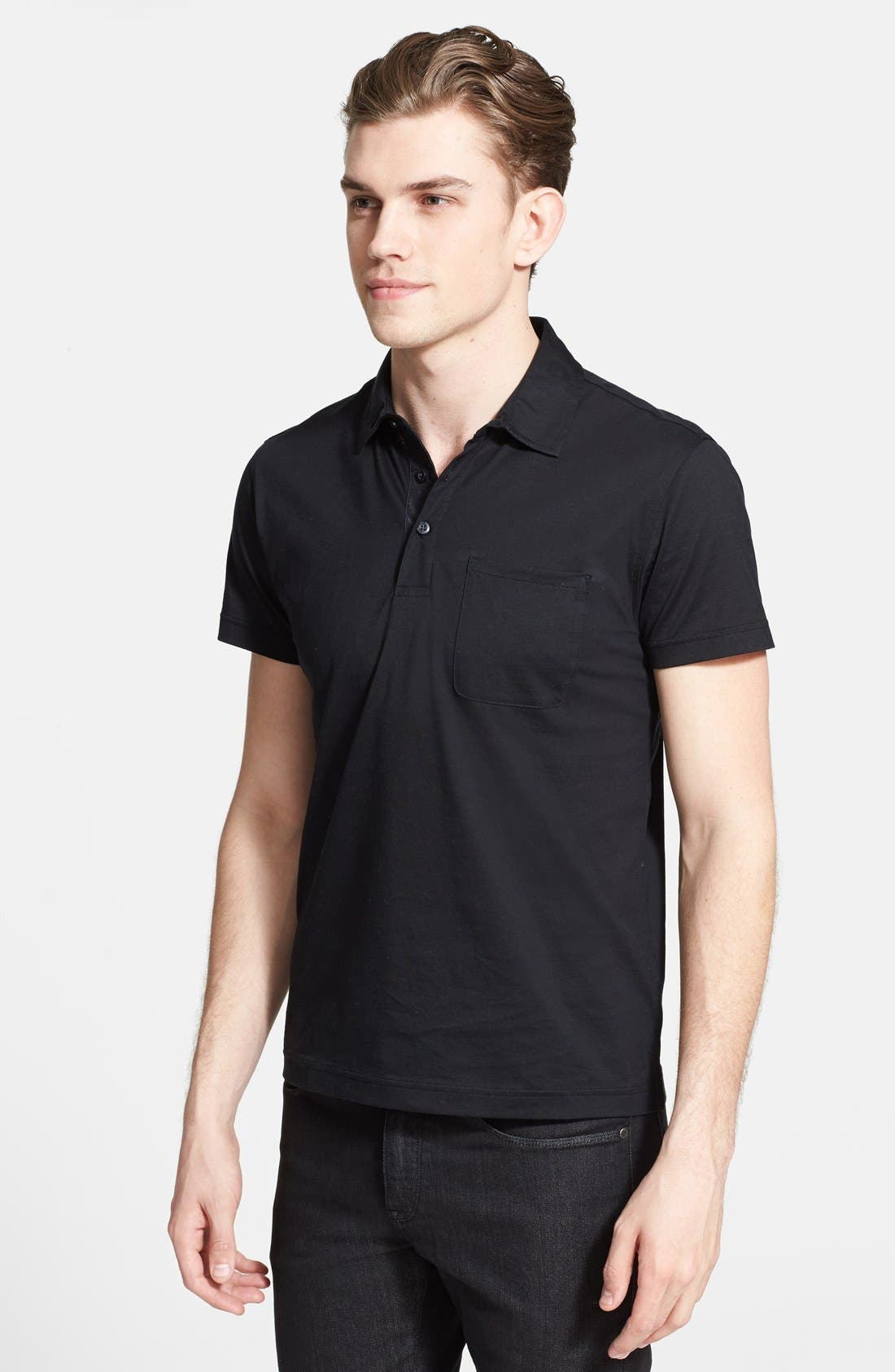 Alternate Image 1 Selected - Zegna Sport Ice Cotton Polo