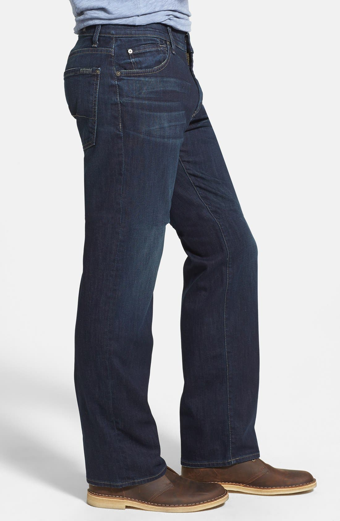 Alternate Image 3  - 7 For All Mankind® 'Austyn - Luxe Performance' Relaxed Straight Leg Jeans (Angeleno Hills)