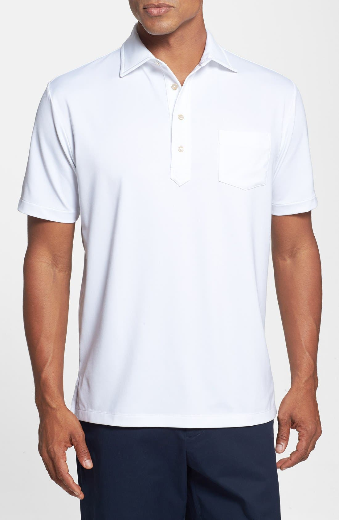 Alternate Image 1 Selected - Peter Millar Moisture Wicking Stretch Polo