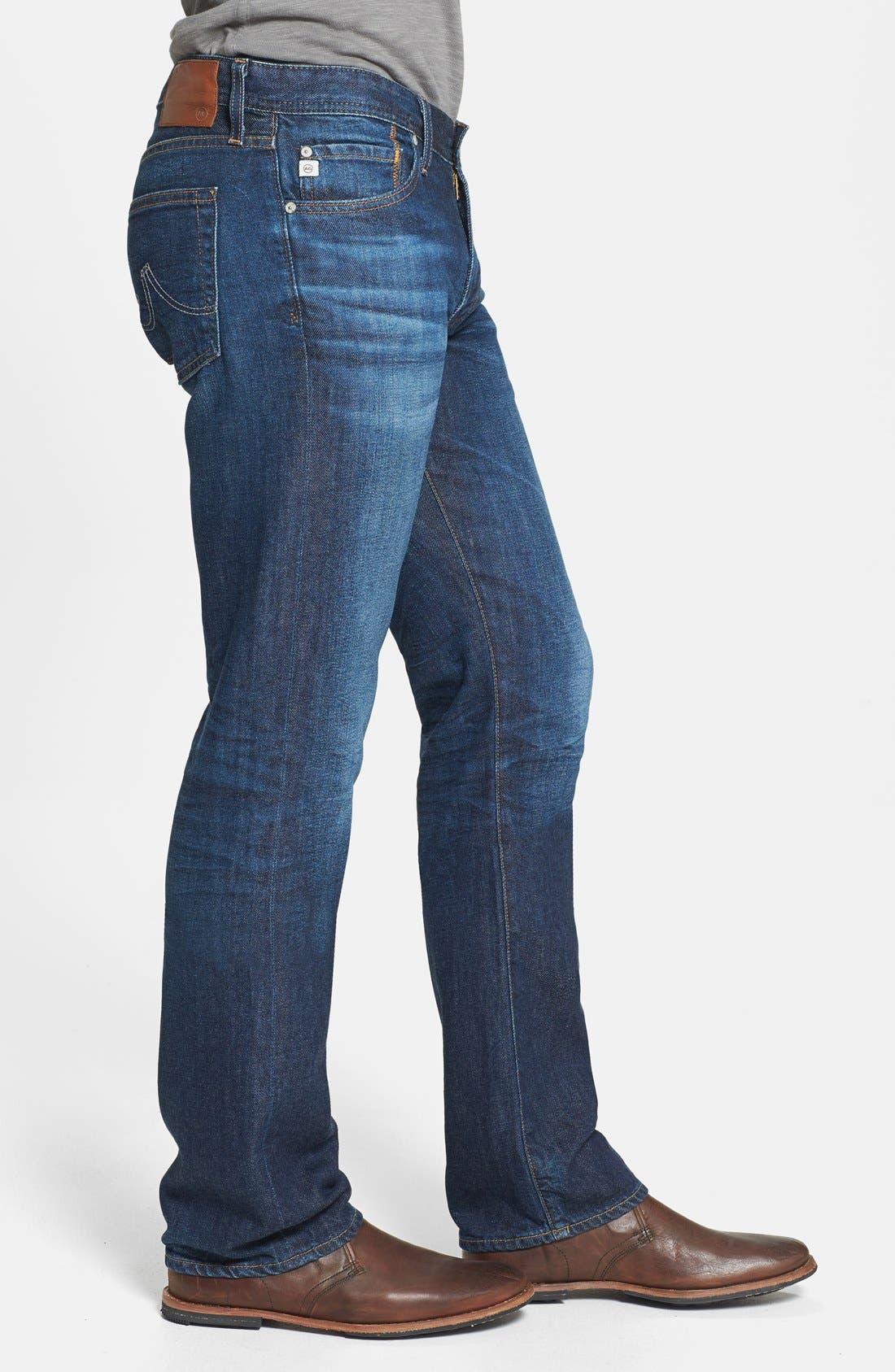 Alternate Image 3  - AG 'Protégé' Straight Leg Jeans (8 Year Gust)
