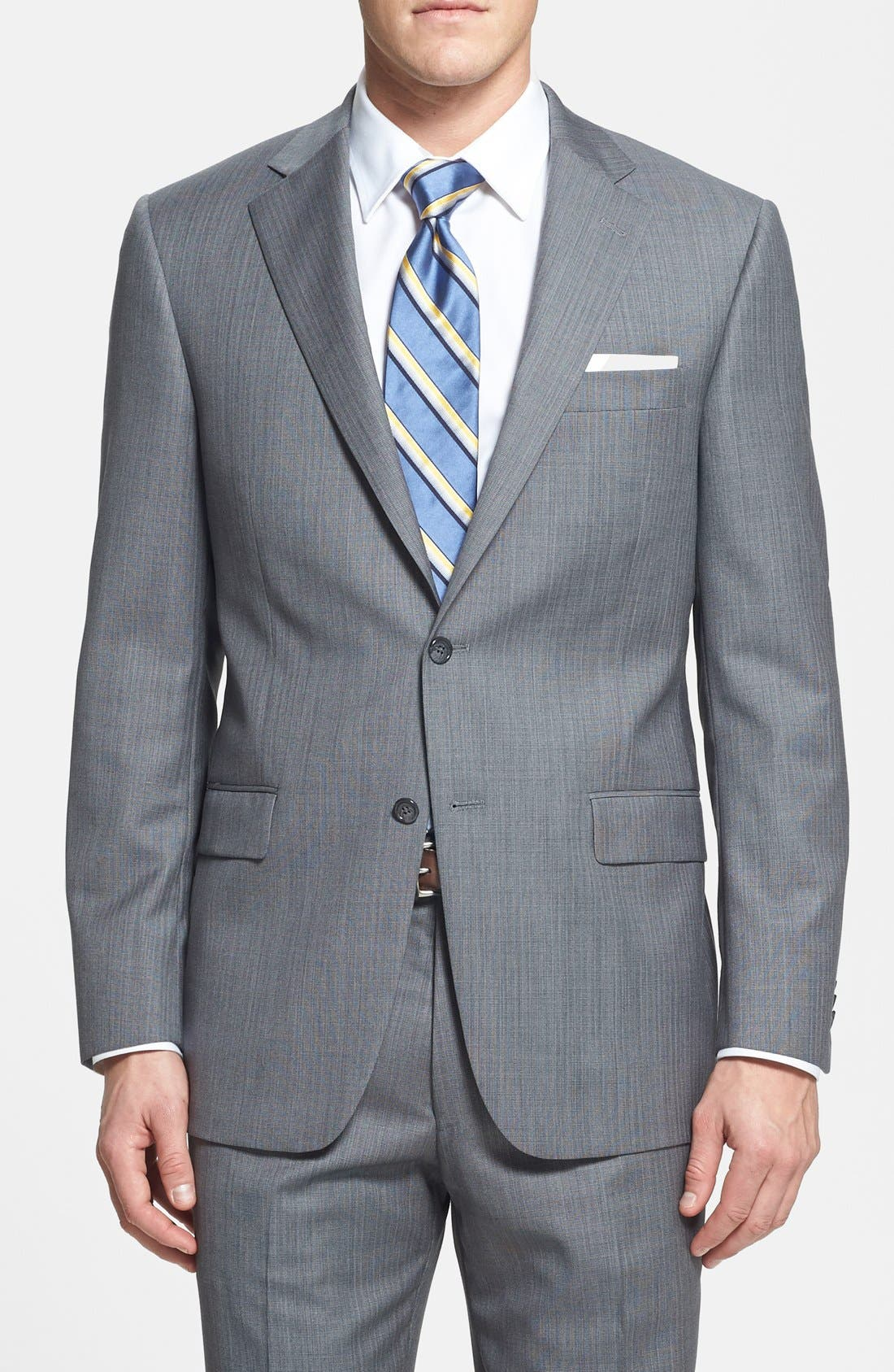 Alternate Image 3  - Hart Schaffner Marx 'Chicago' Classic Fit Wool Suit
