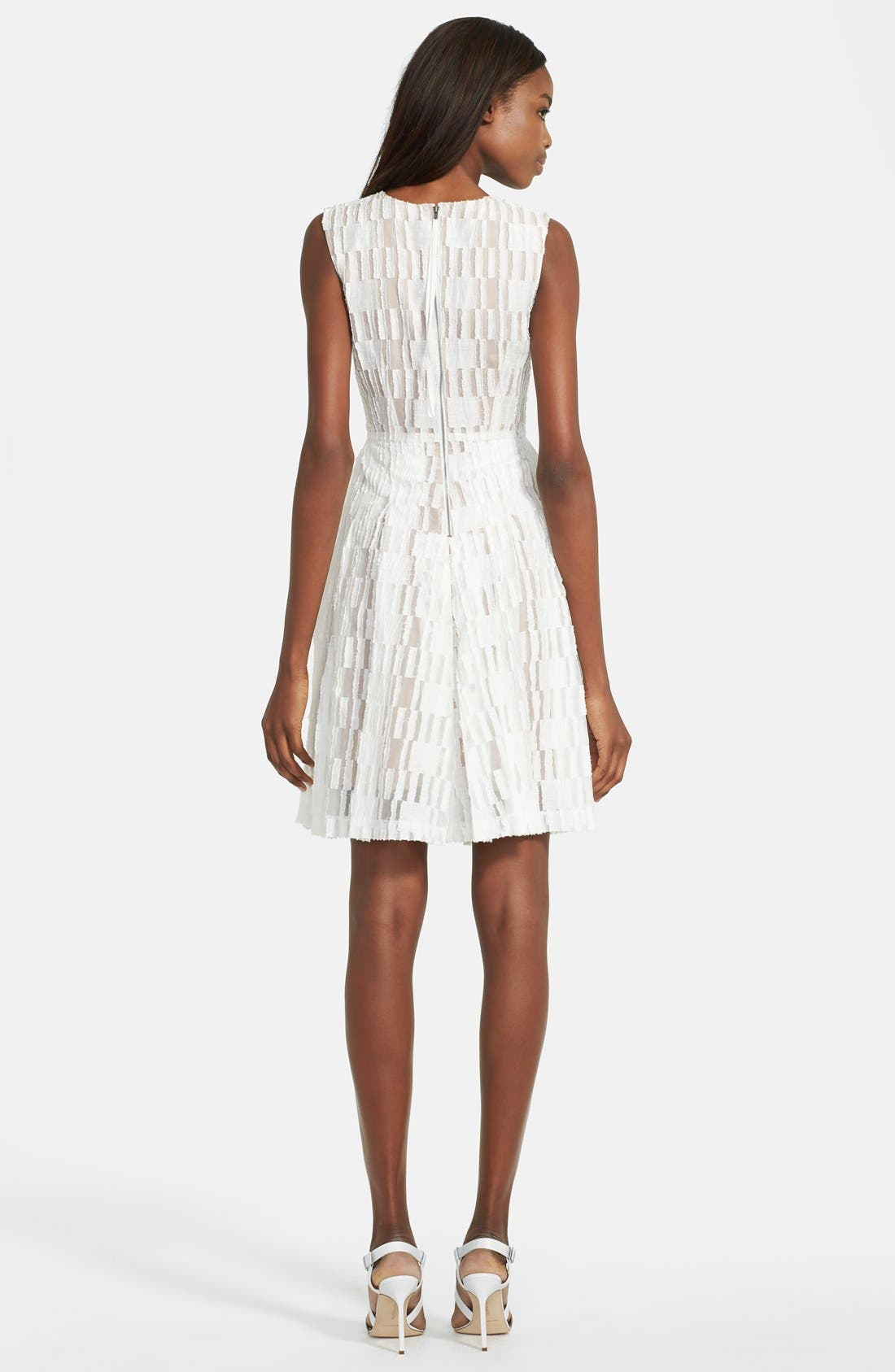 Alternate Image 2  - Tracy Reese Lace Fit & Flare Dress