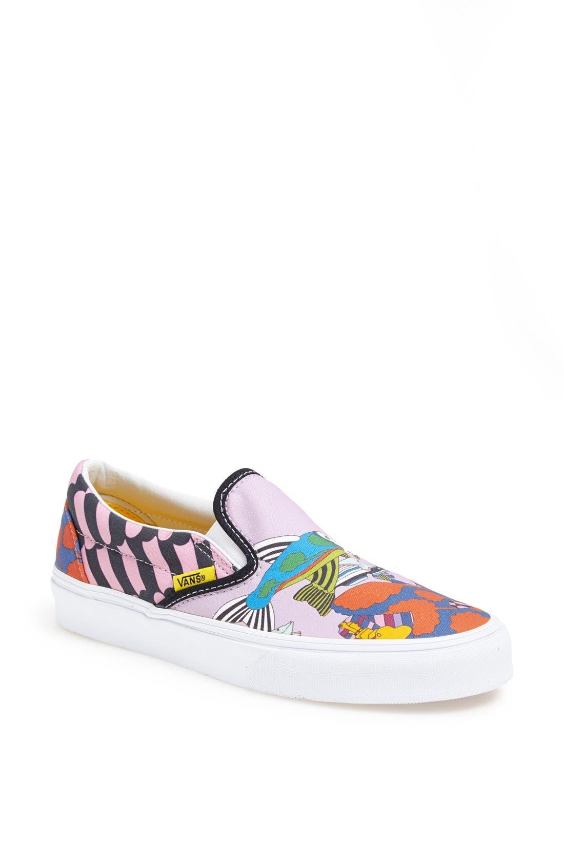 Main Image - Vans 'Sea of Monster' Slip-On Sneaker (Women)